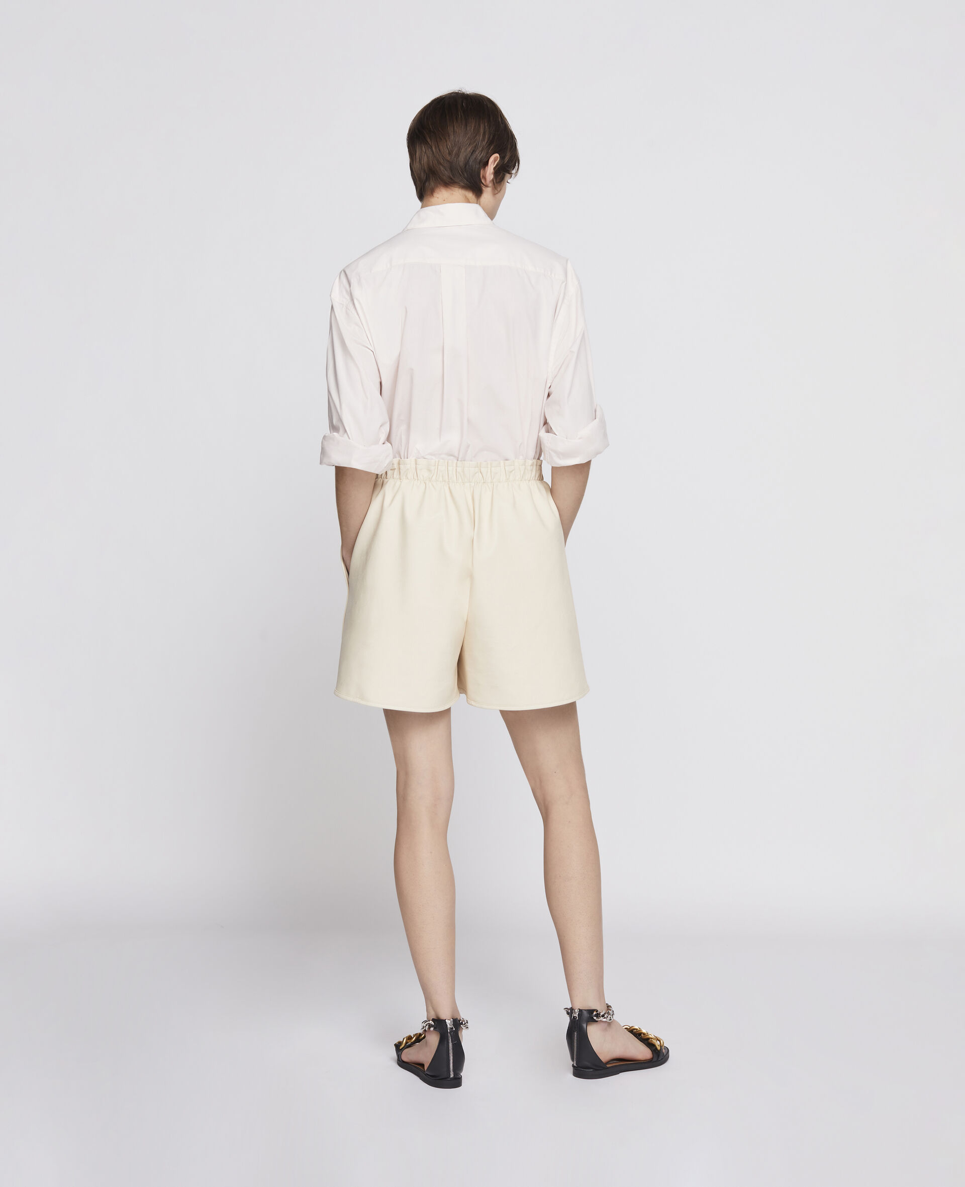 Lane Alter Mat Shorts-Beige-large image number 2