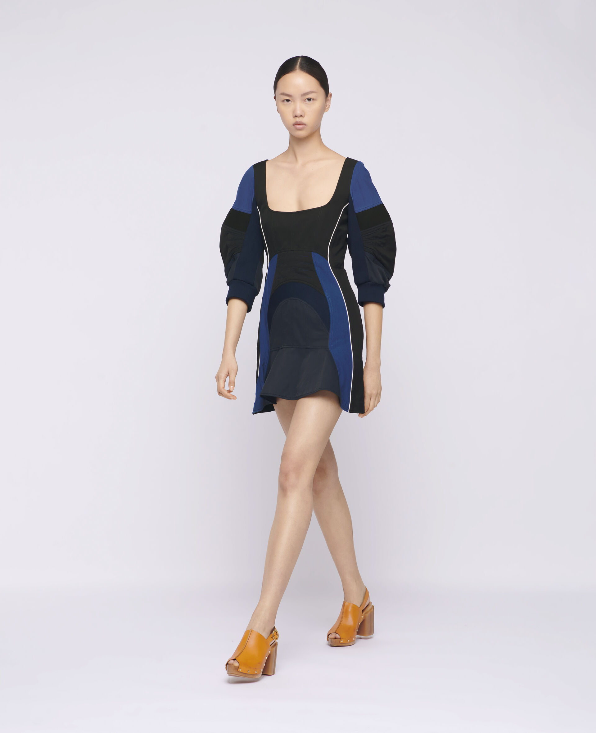 Giselle Mini Dress-Black-large image number 1