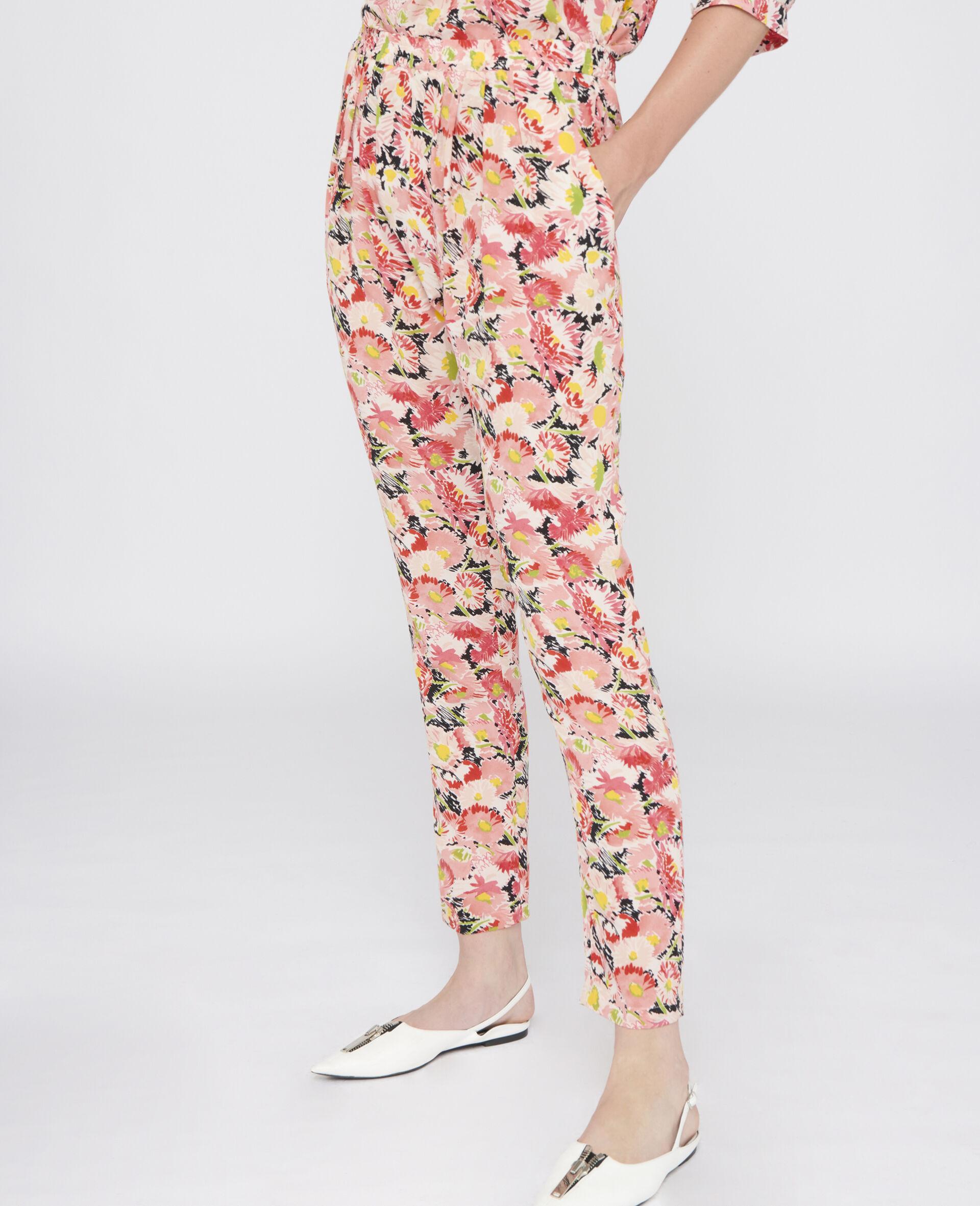 Christine Silk Pants-Multicoloured-large image number 3