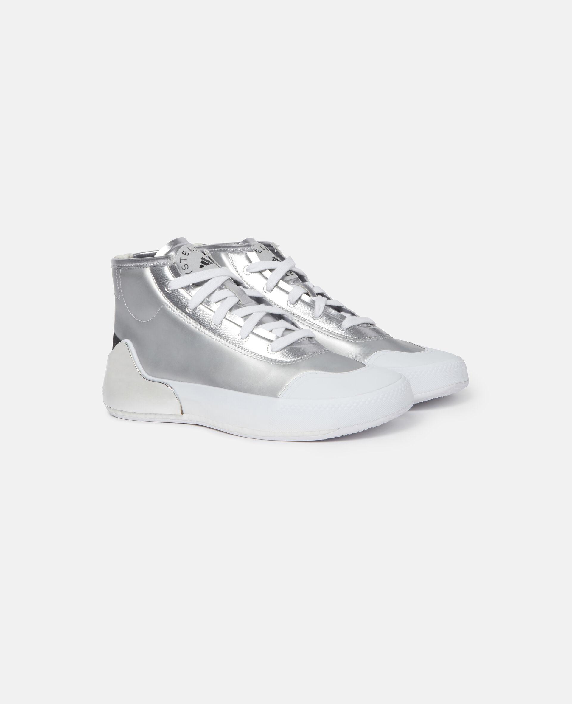 Metallic Treino Running Sneakers-Grey-large image number 3