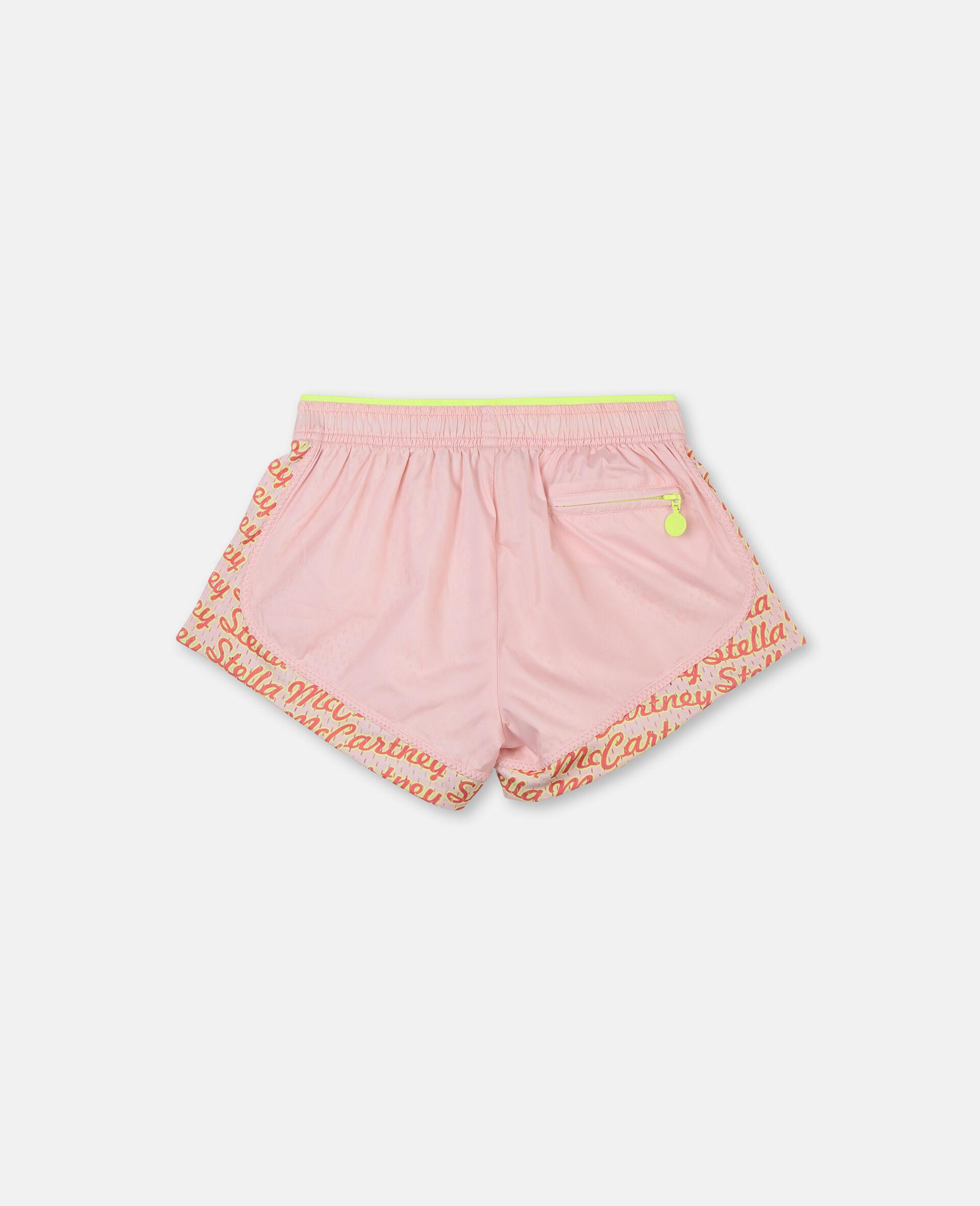 Logo Active Shorts-Pink-large image number 3