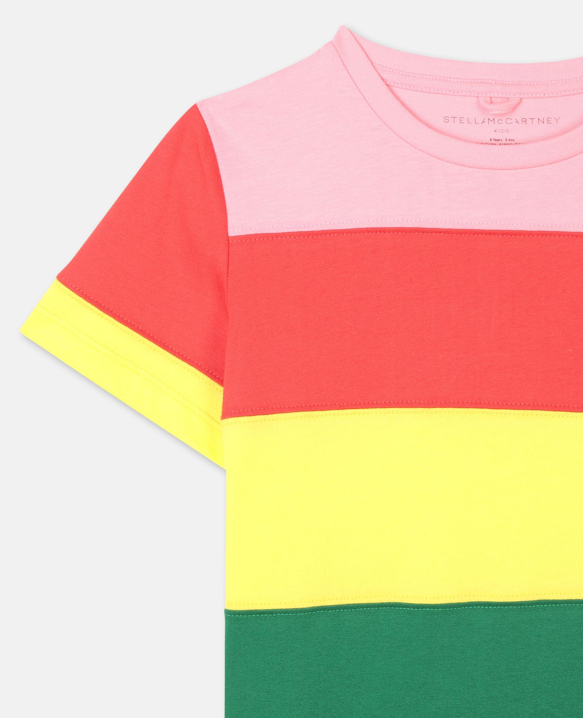 T-shirt en coton rayé-Fantaisie-large image number 1