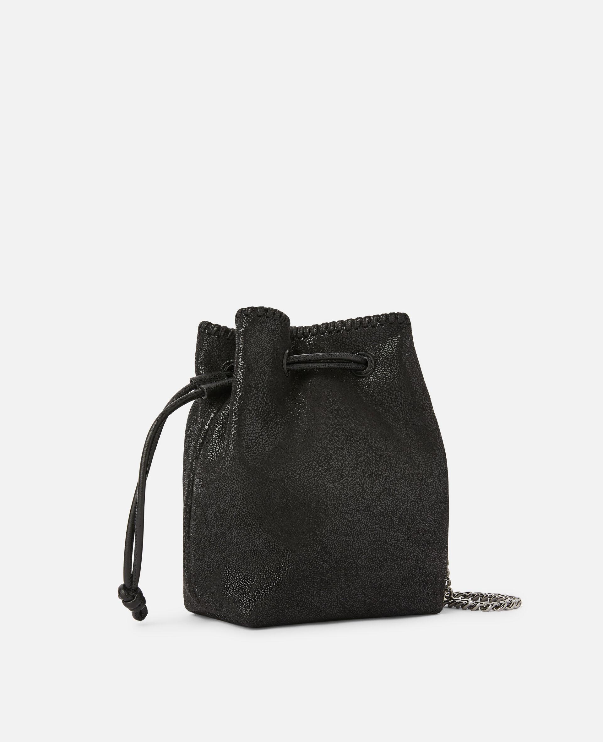 Falabella Micro Bucket Tote -Black-large image number 1