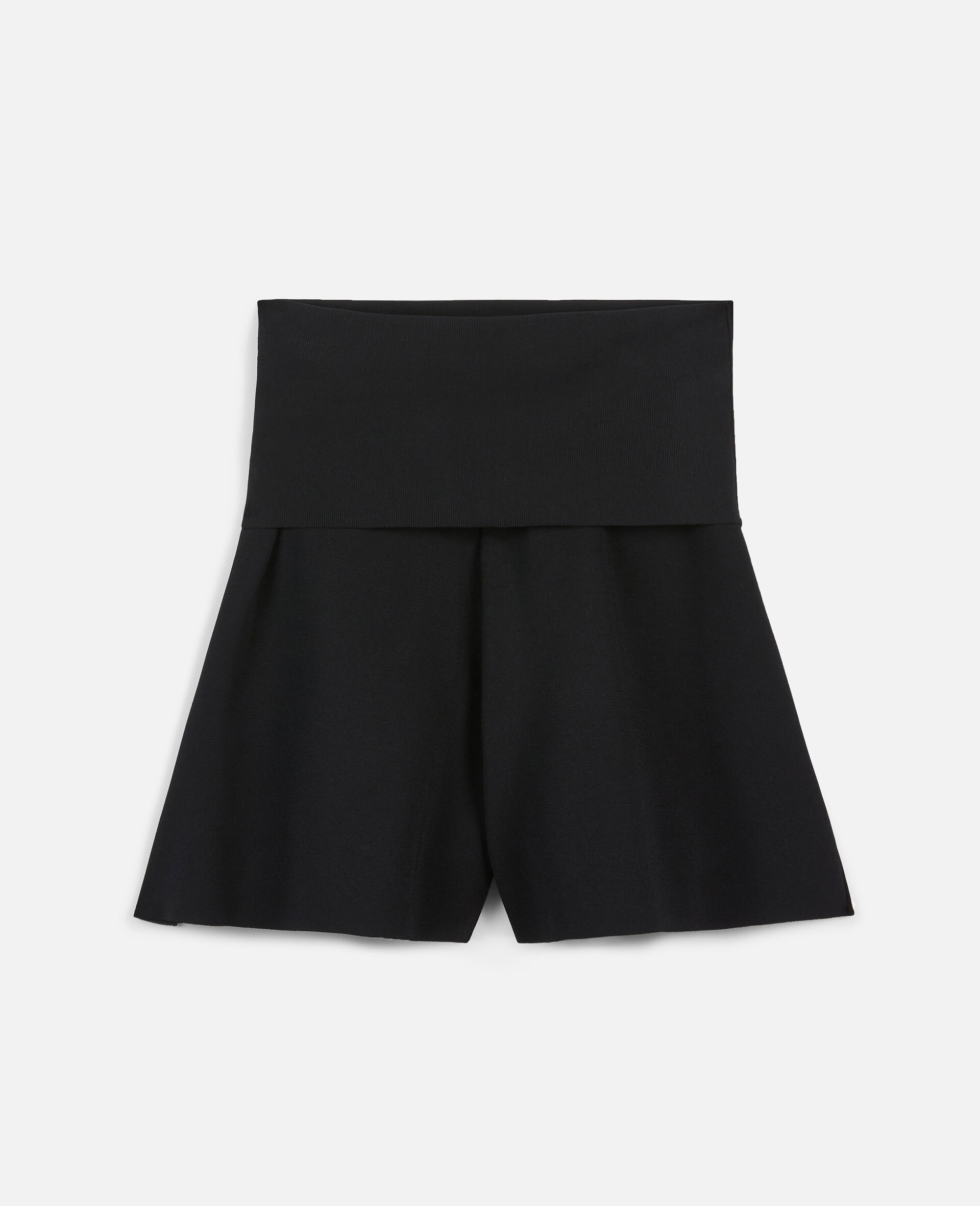 Compact Knit Shorts-Black-large image number 0
