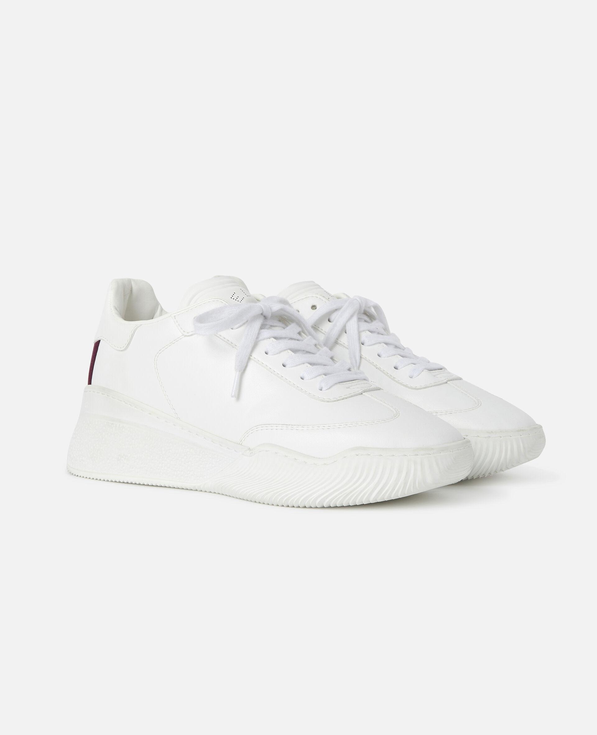 Sneakers Loop mit Schnürung-Weiß-large image number 1