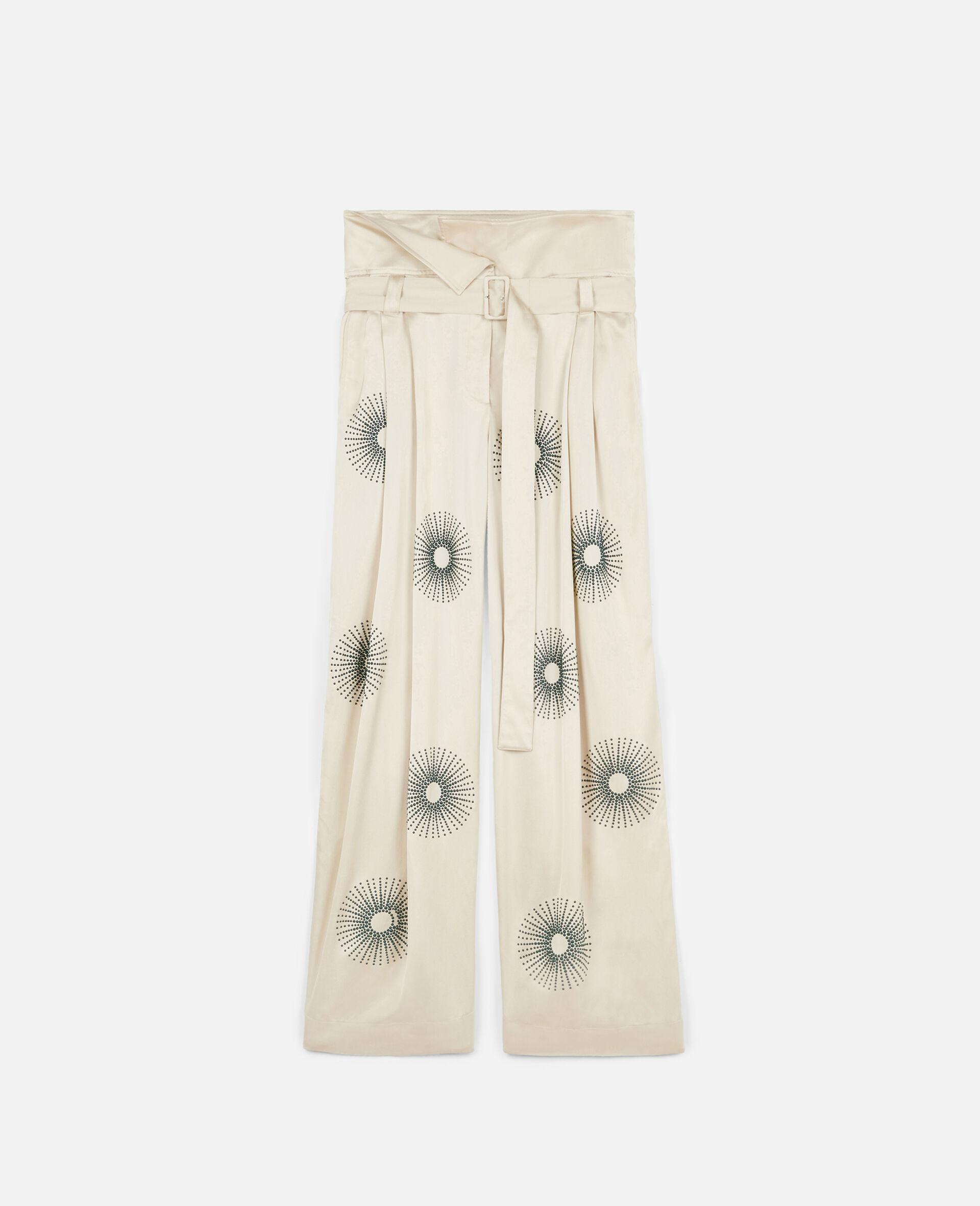 Elliana 烫钻裤装-白色-large image number 0