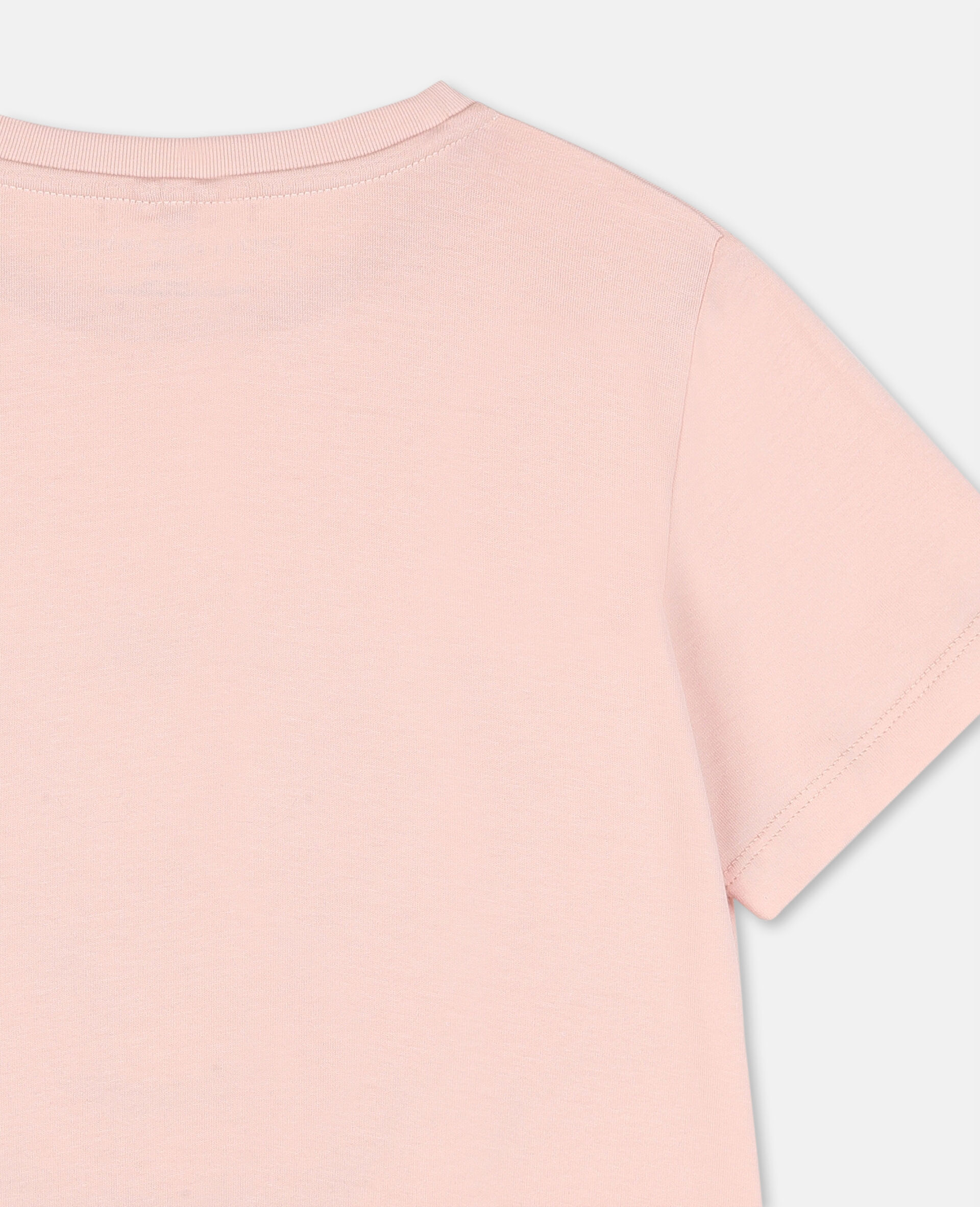 Dancing Flamingo Cotton T-shirt-Pink-large image number 2