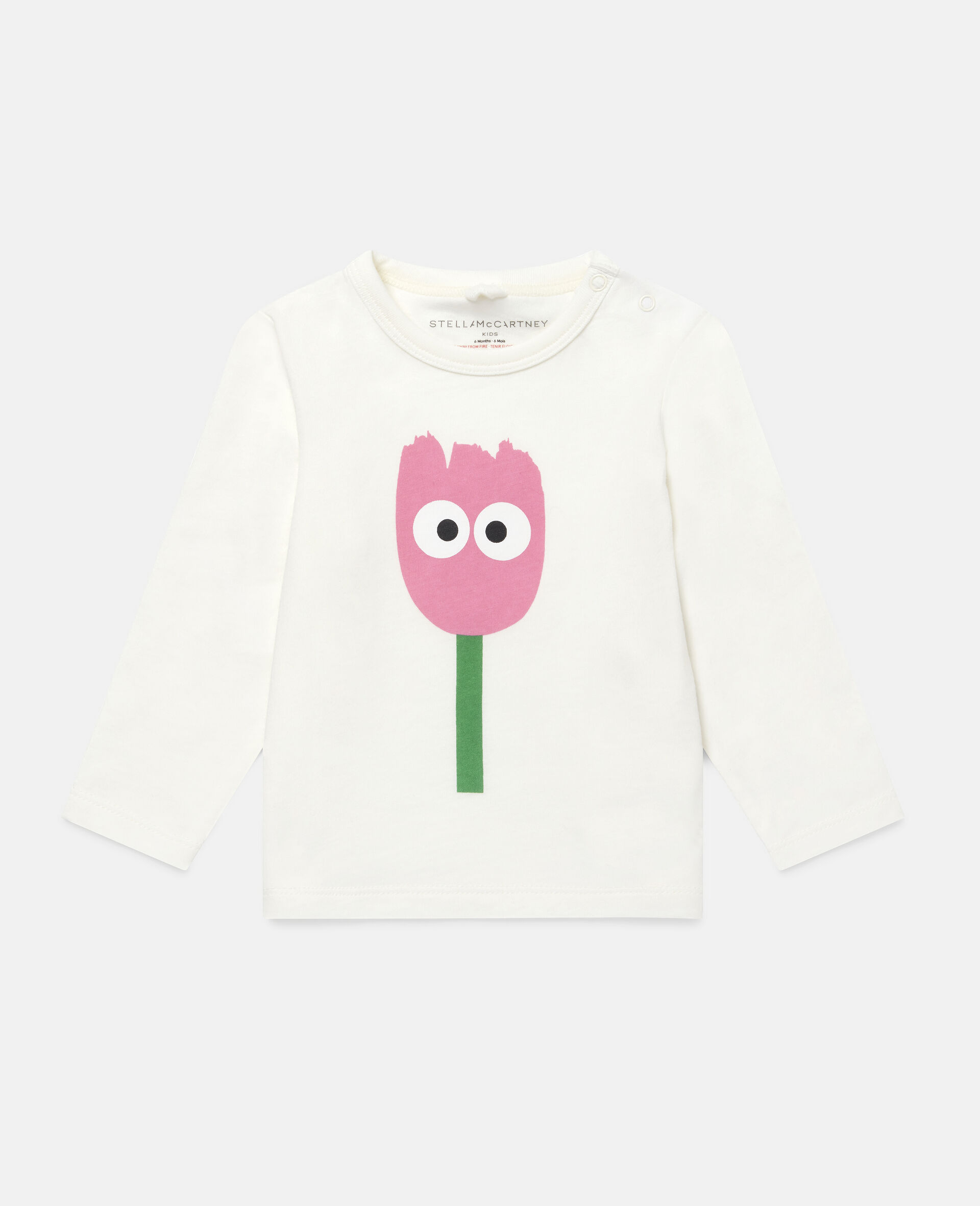 Tulip Cotton Top-White-large image number 0