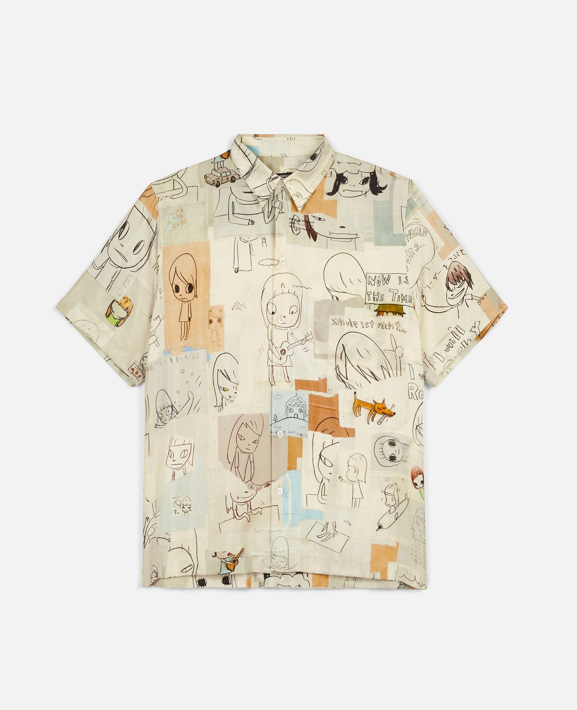 Ricky Silk Shirt-Multicoloured-large image number 0