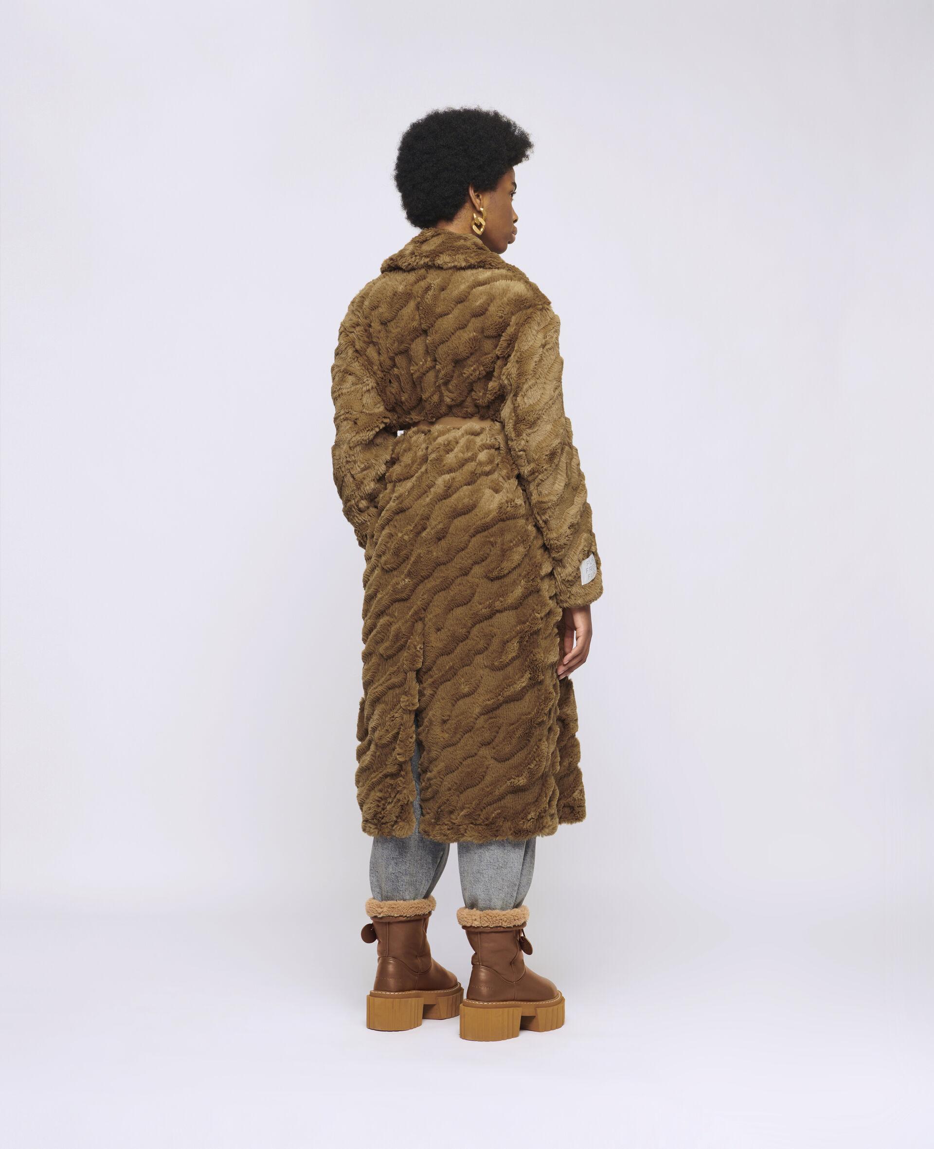 Melina Koba FFF Coat-Brown-large image number 2