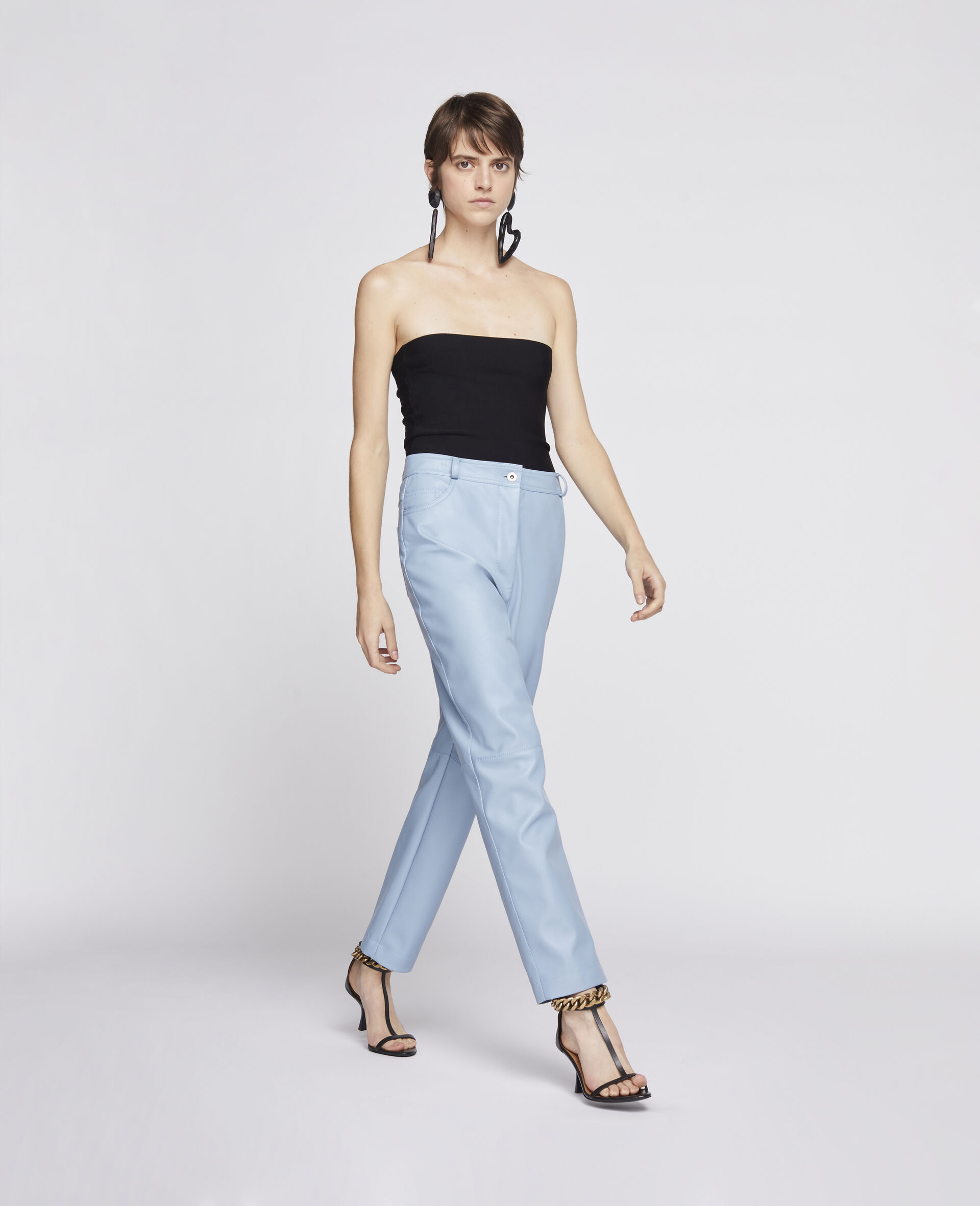 Hailey Alter Mat Trousers-Blue-large image number 1