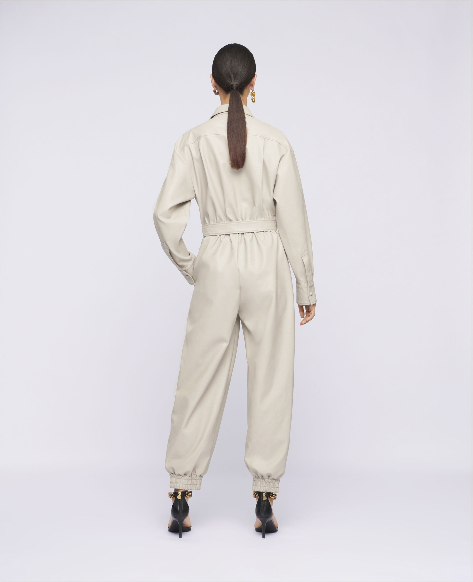 Mira Alter Mat Jumpsuit-Beige-large image number 2