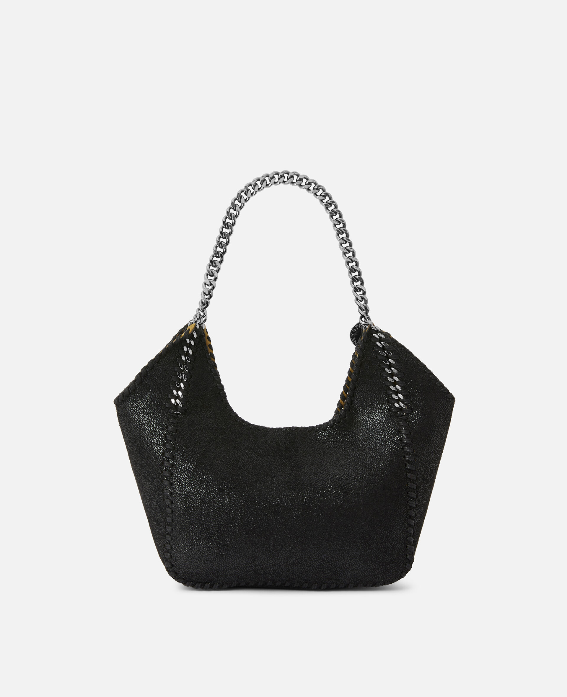 Mini Falabella Tote Bag -Black-large image number 2
