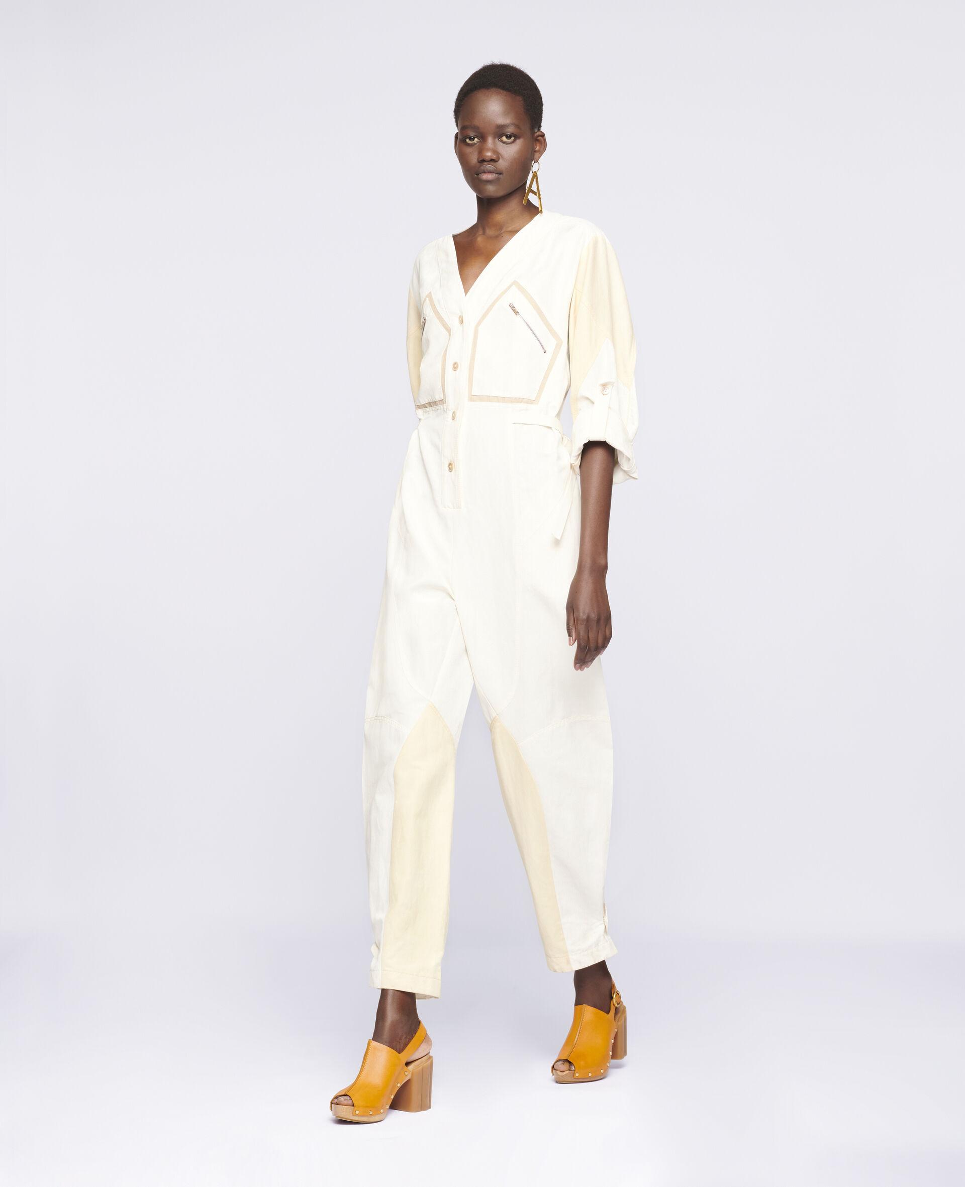 Anika Jumpsuit-White-large image number 1