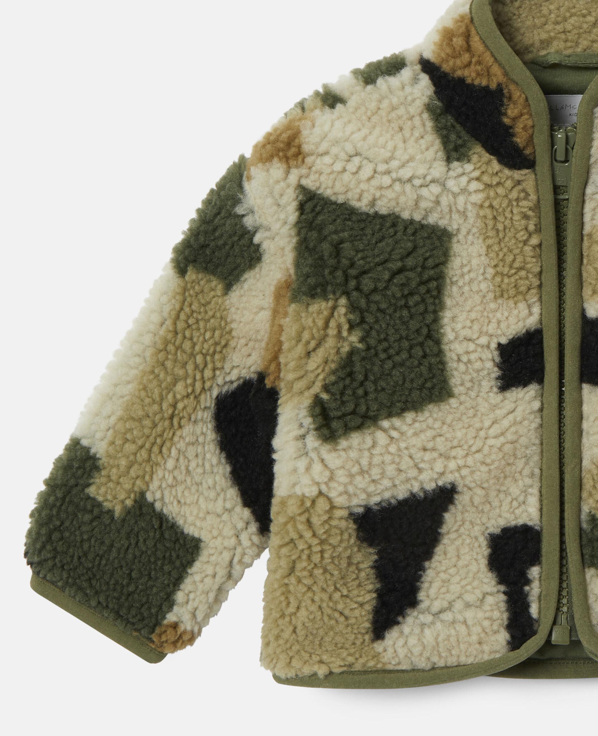 Military Camouflage Teddy Jacket-Multicolour-large image number 2
