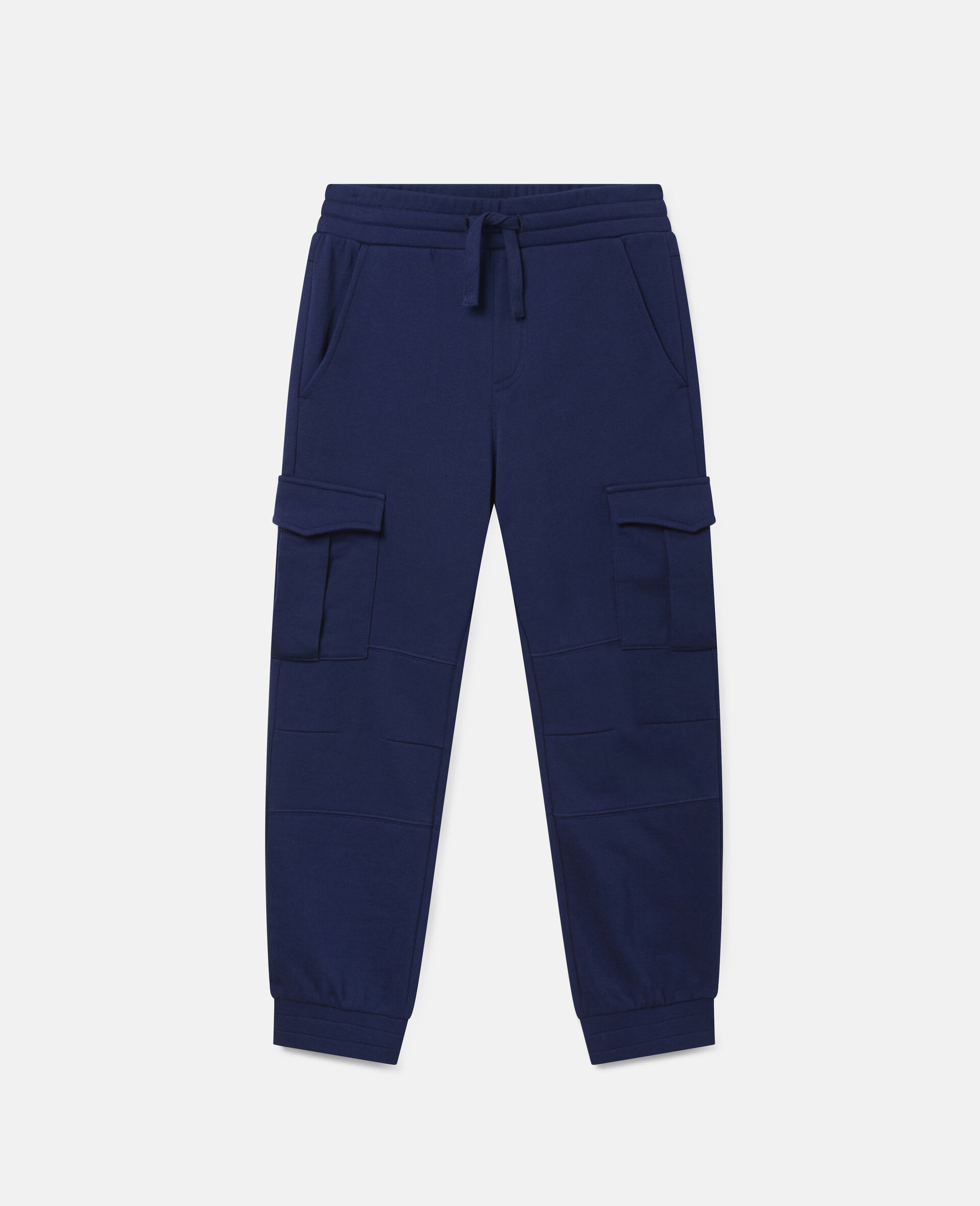 Cargo Fleece Joggers-Blue-large image number 0