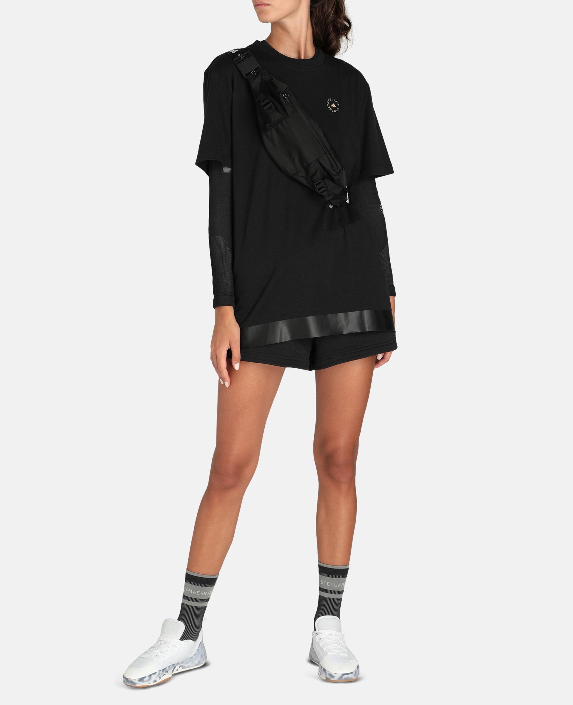 T-shirt de sport noir-Noir-large image number 1