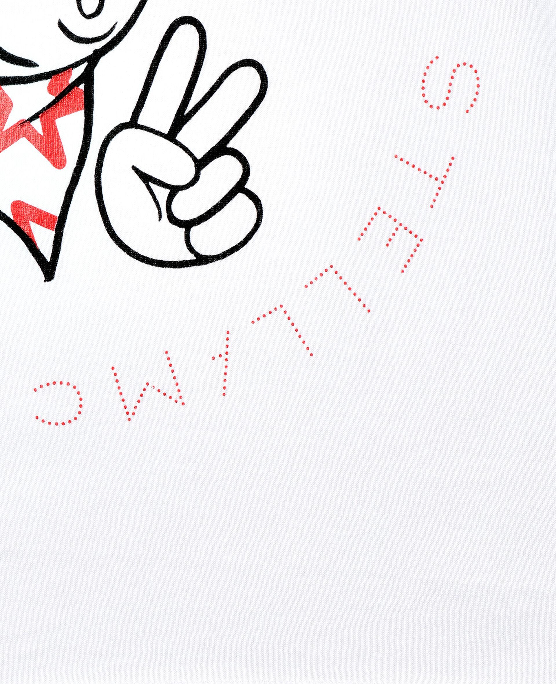 T-shirt en coton à motif nouvel an lunaire -Blanc-large image number 2