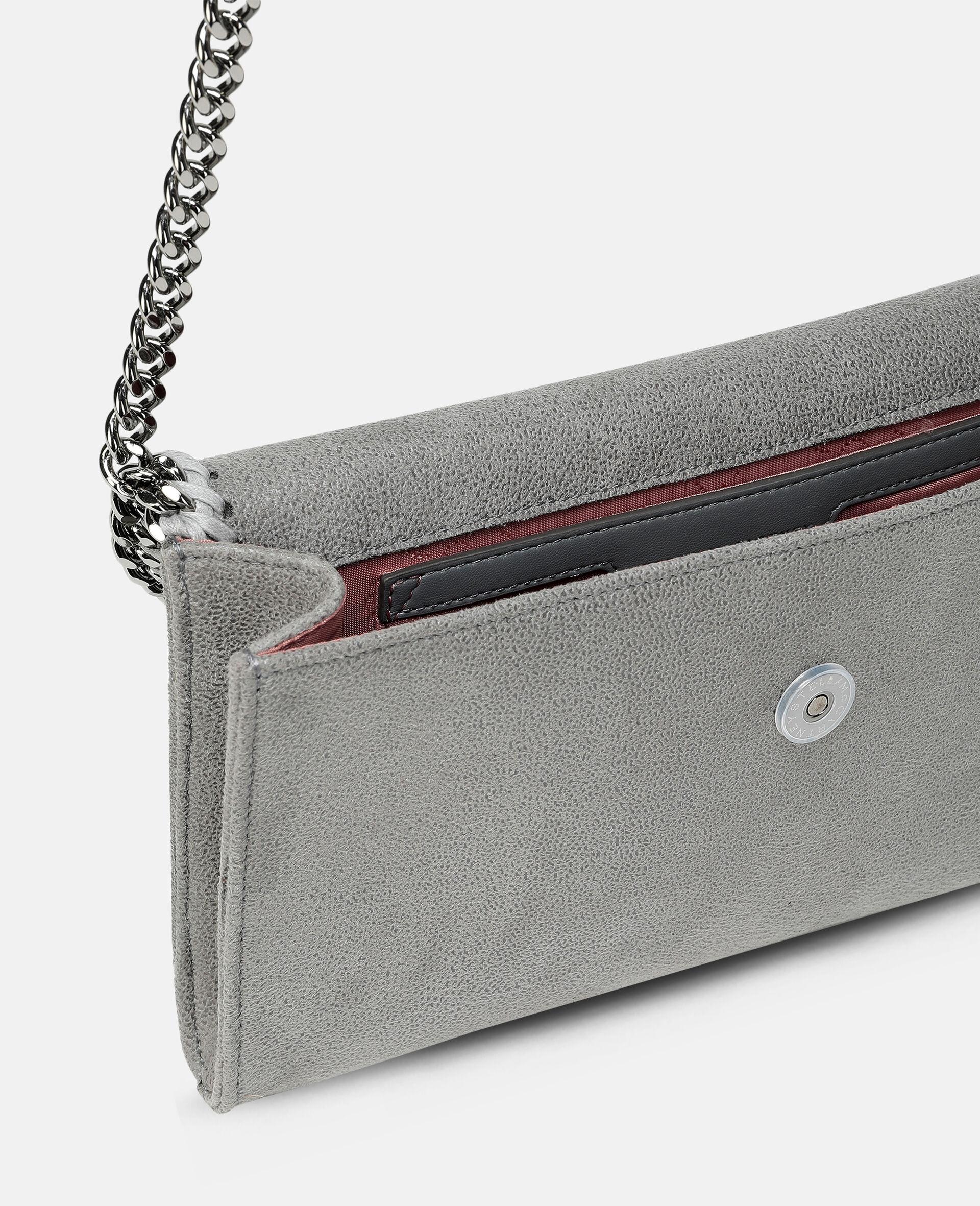 Falabella Mini Shoulder Bag-Grey-large image number 3