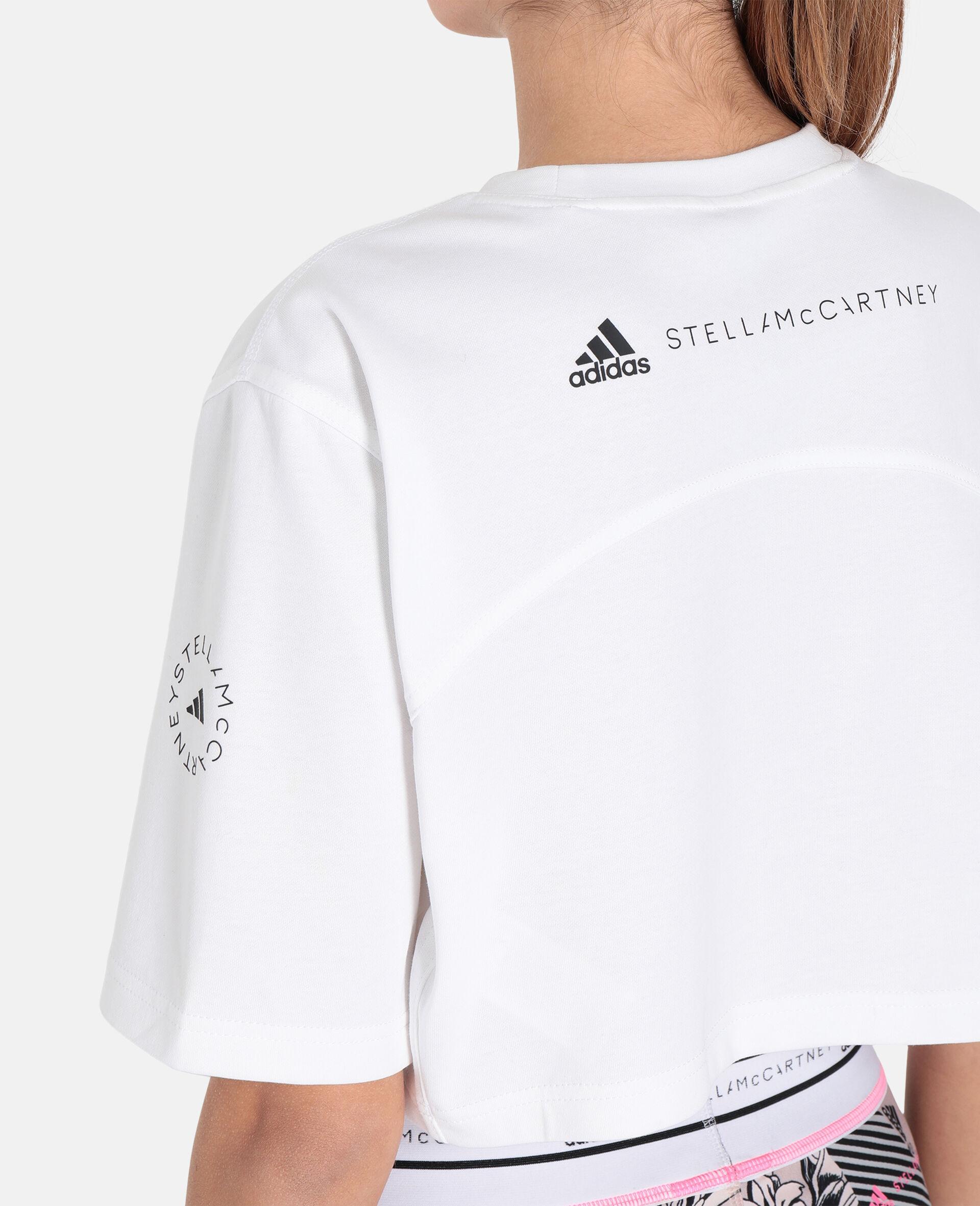 Future Playground Crop T-Shirt-White-large image number 3