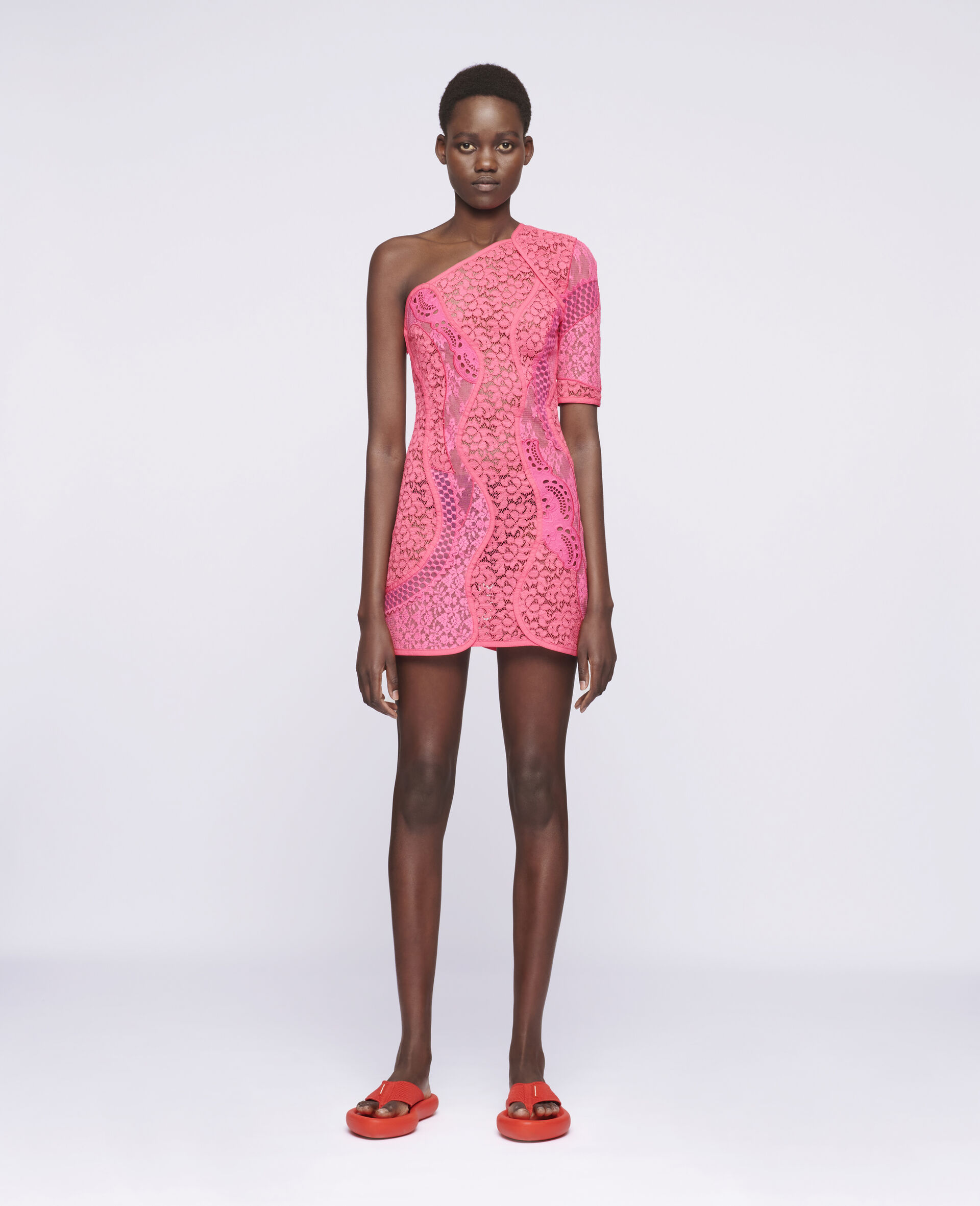 Daniela Mini Dress-Pink-large image number 1