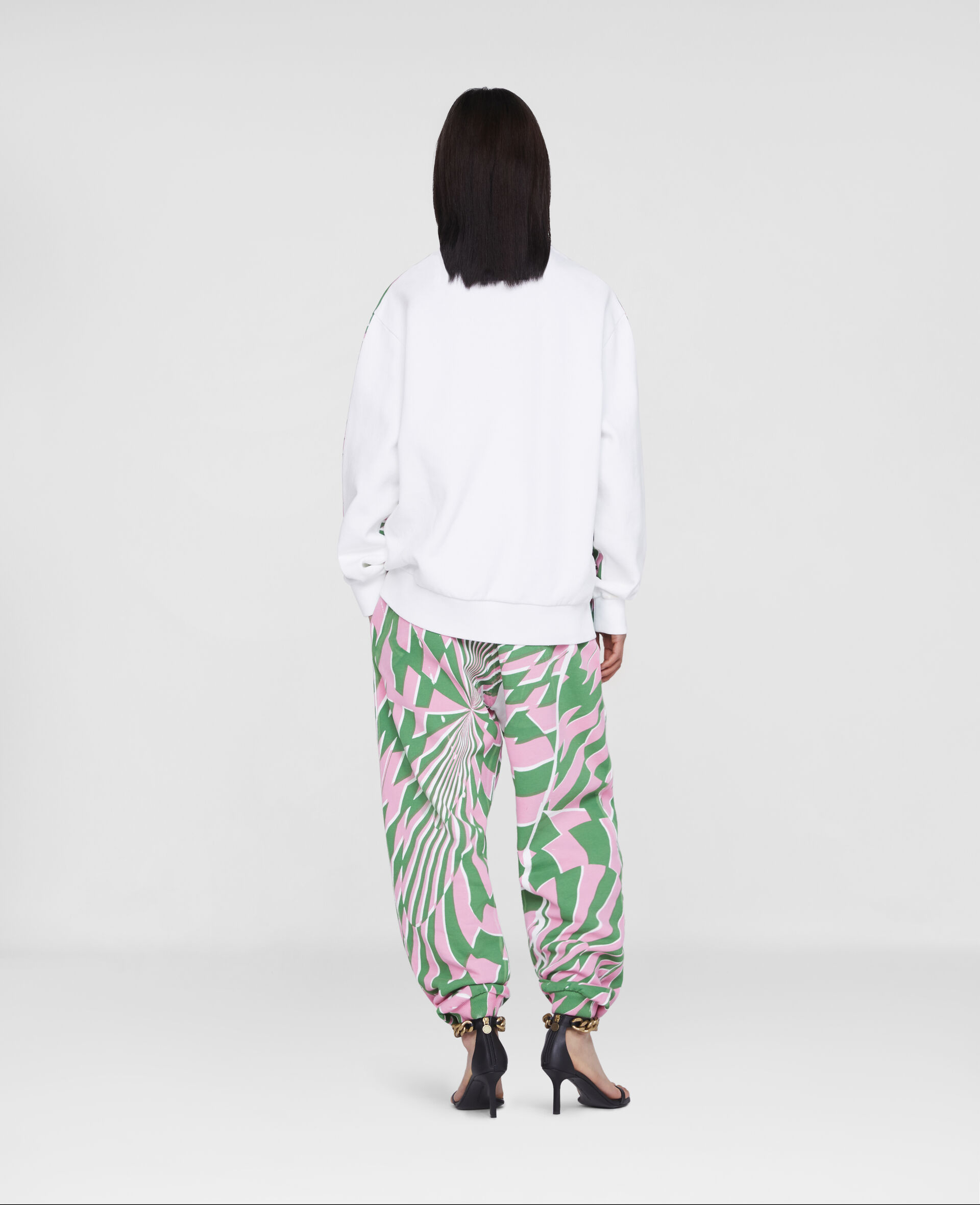Ed Curtis Psychedelic Sweatpants-Multicolour-large image number 2