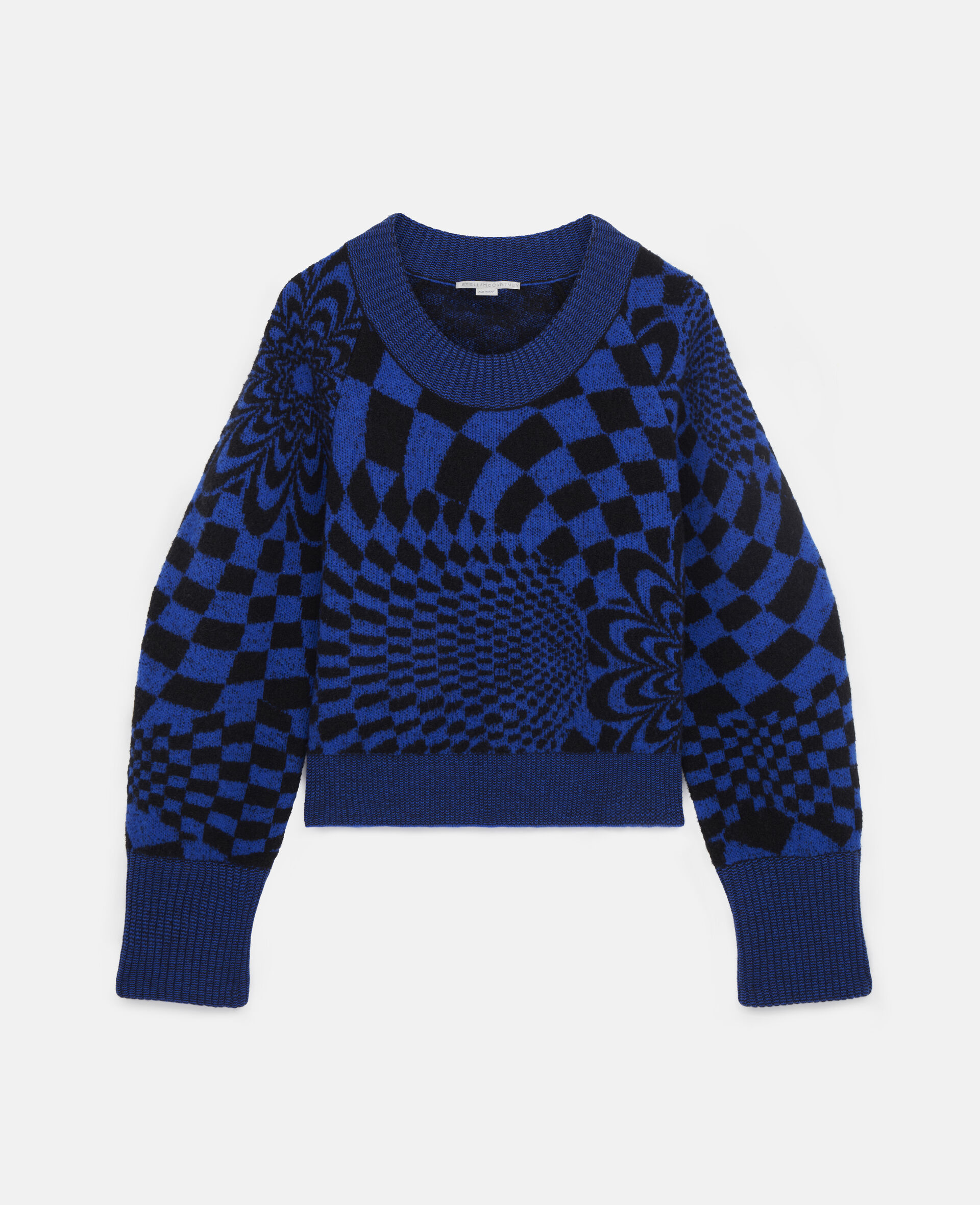 Geometric Pattern Sweater-Multicolour-large image number 0