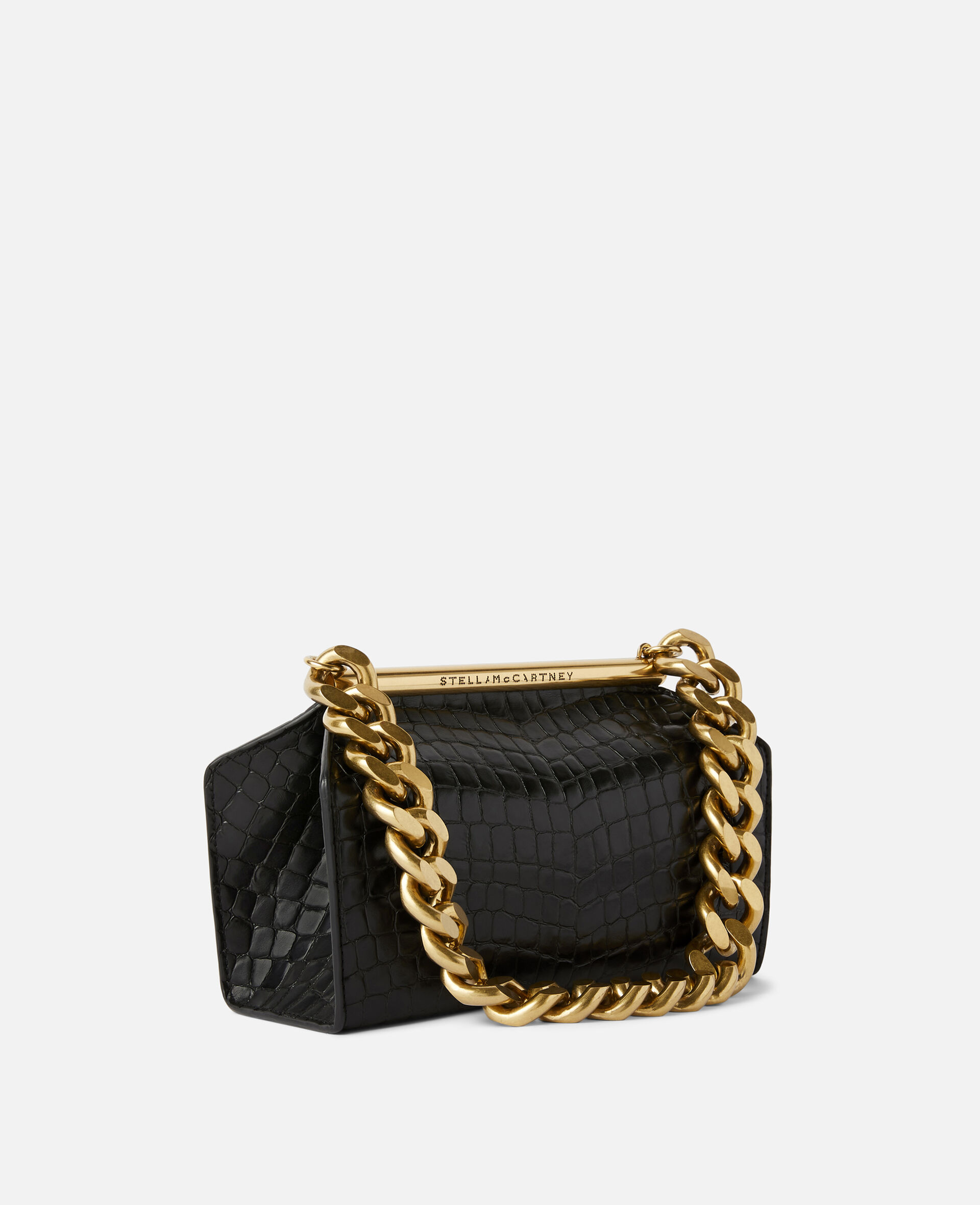 Medium Chunky Chain Bag-Black-large image number 1