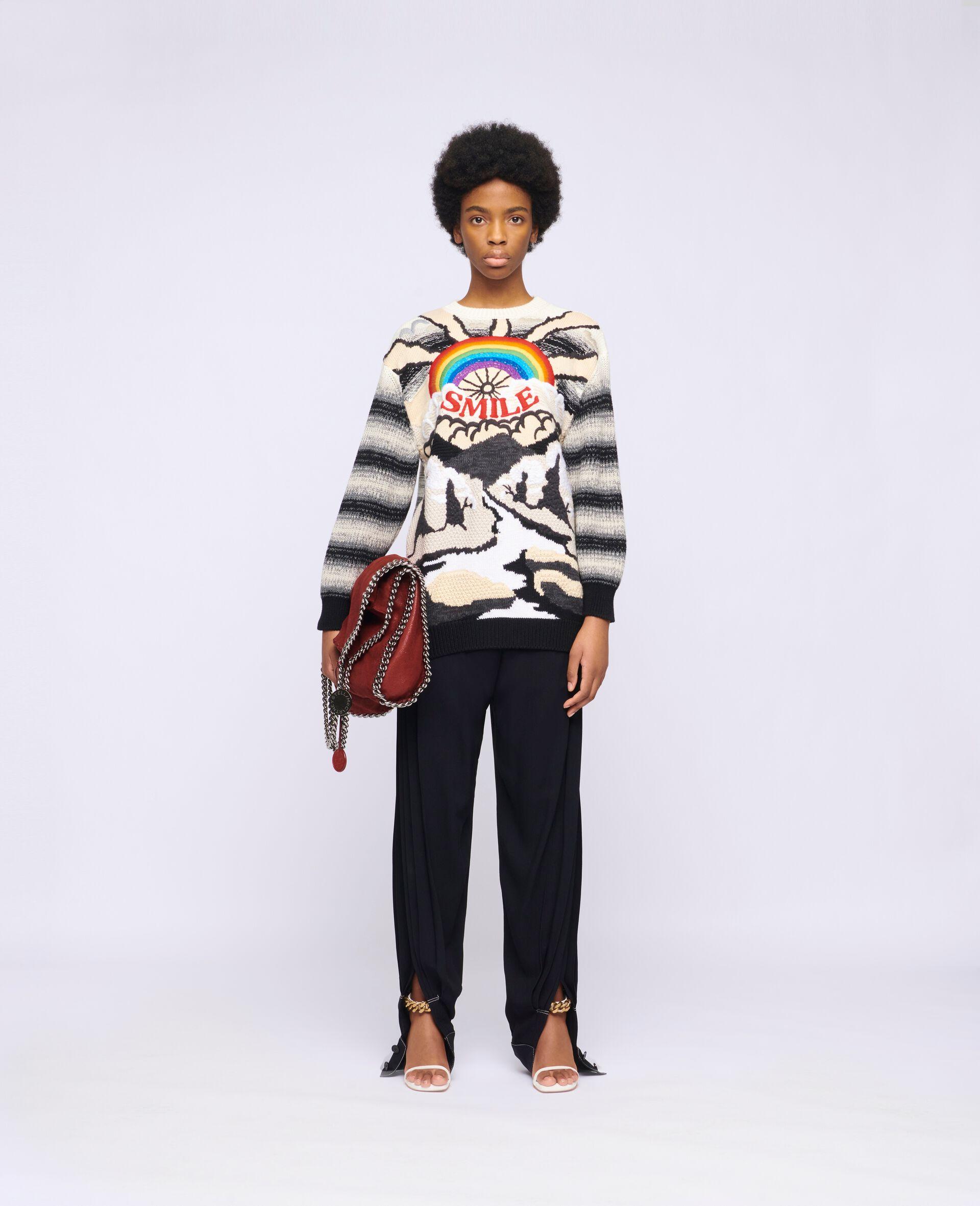 Kind Intarsia Sweater -Multicolour-large image number 1
