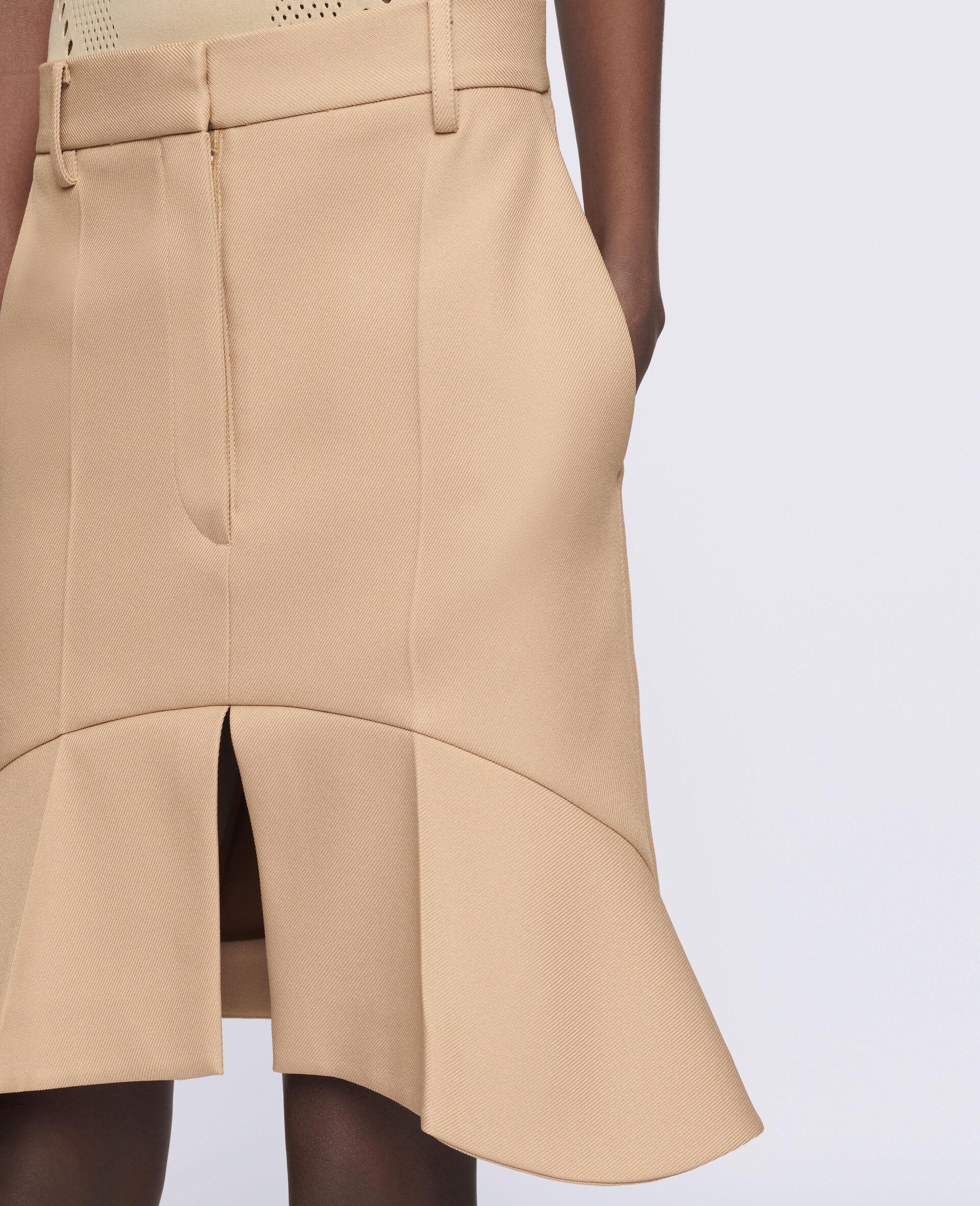 Arabella Mini Skirt-Brown-large image number 3