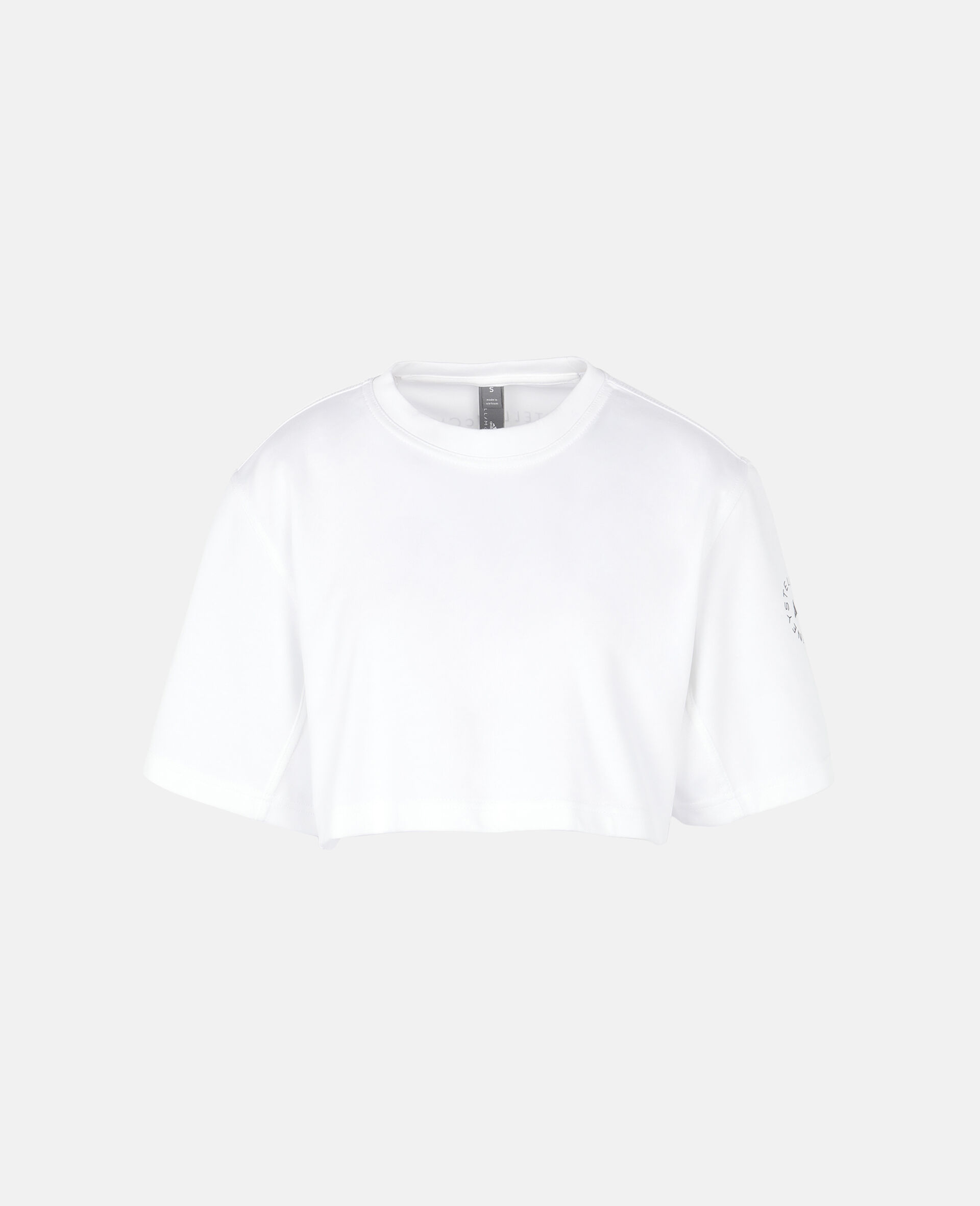 Future Playground 短款 T 恤-白色-large image number 0