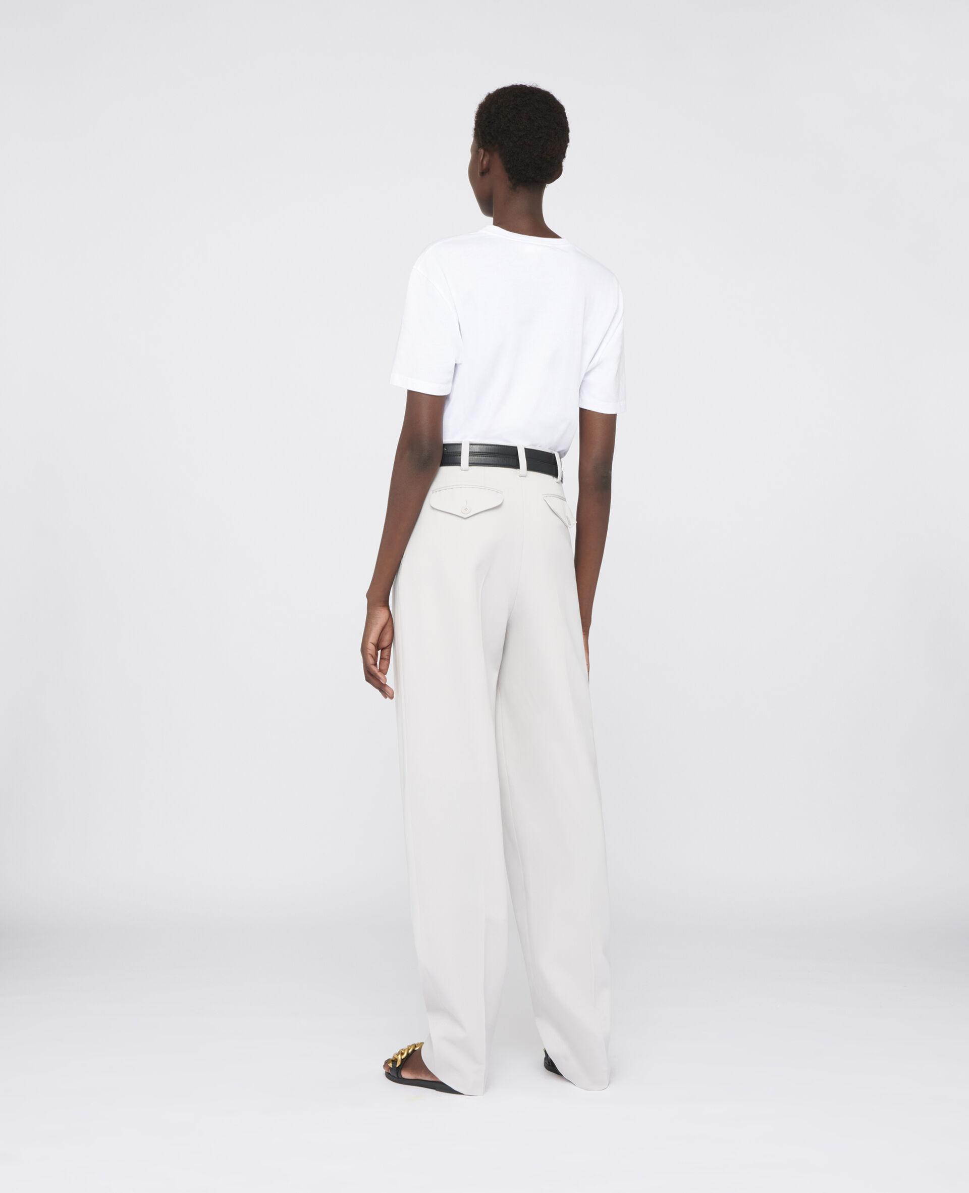 Louise Tailored Trousers-Grey-large image number 2