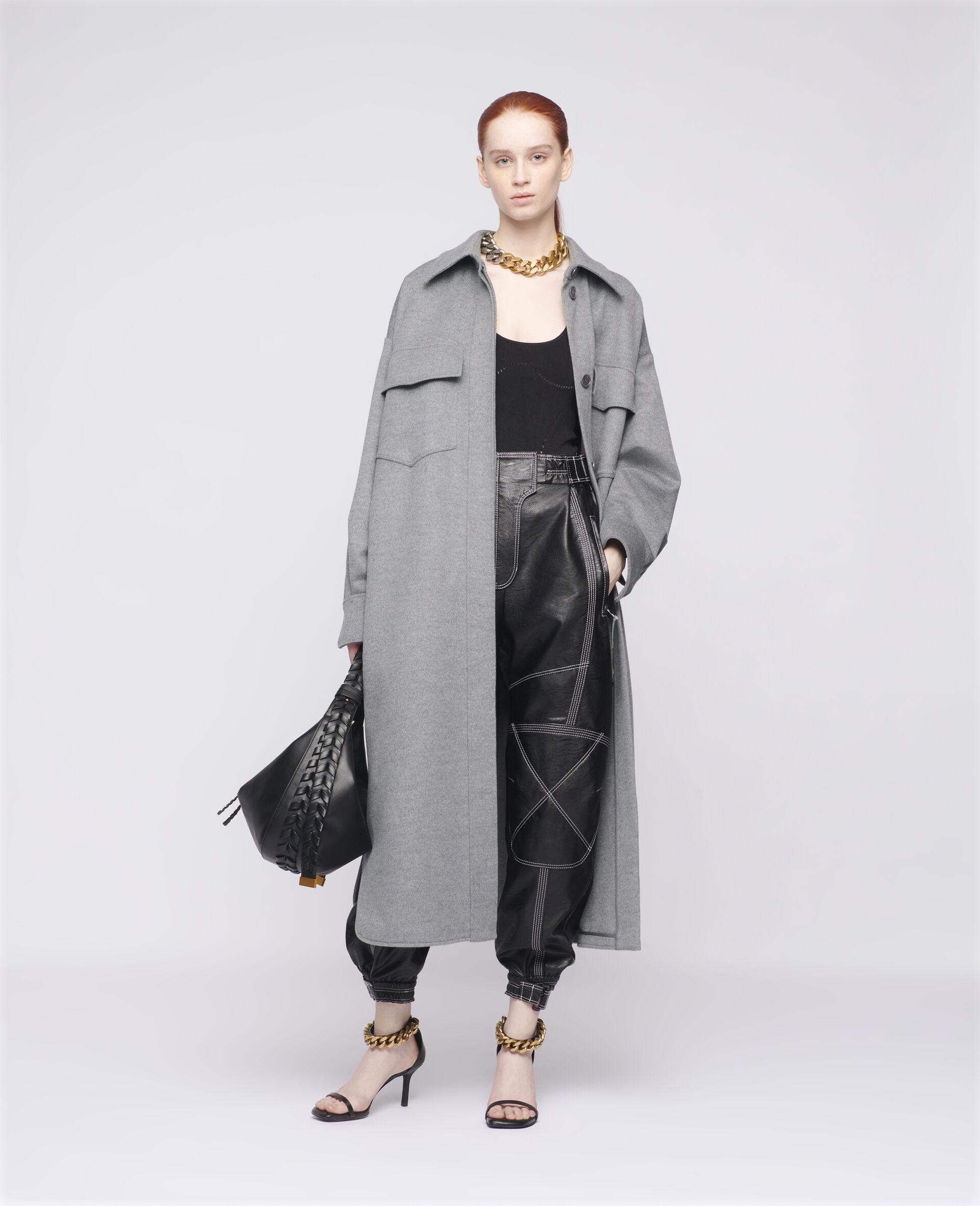 Linda Wool Coat-Grey-large image number 1