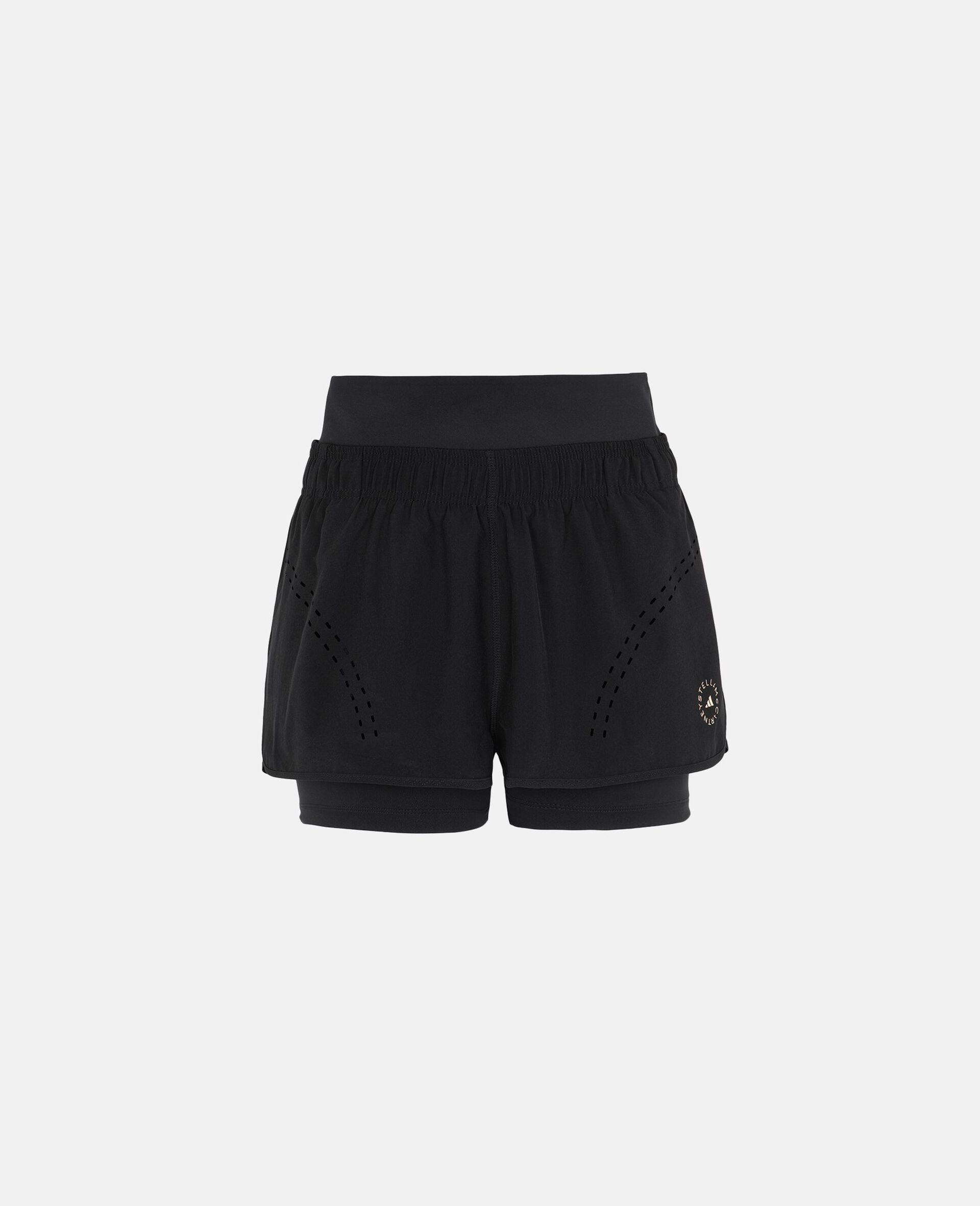 Schwarze TruePurpose Sport-Shorts-Schwarz-large image number 0