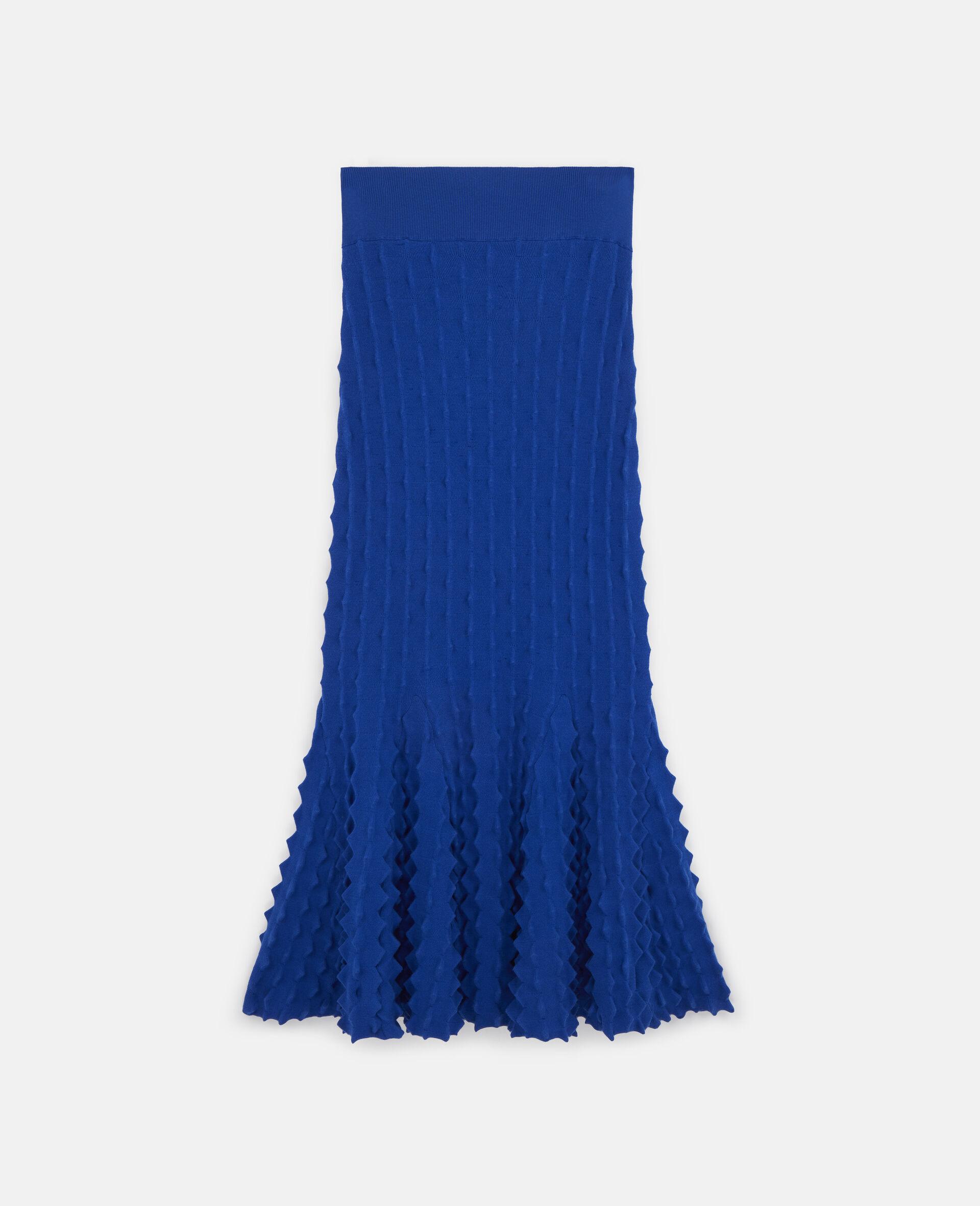 Light Popcorn Skirt-Blue-large image number 0