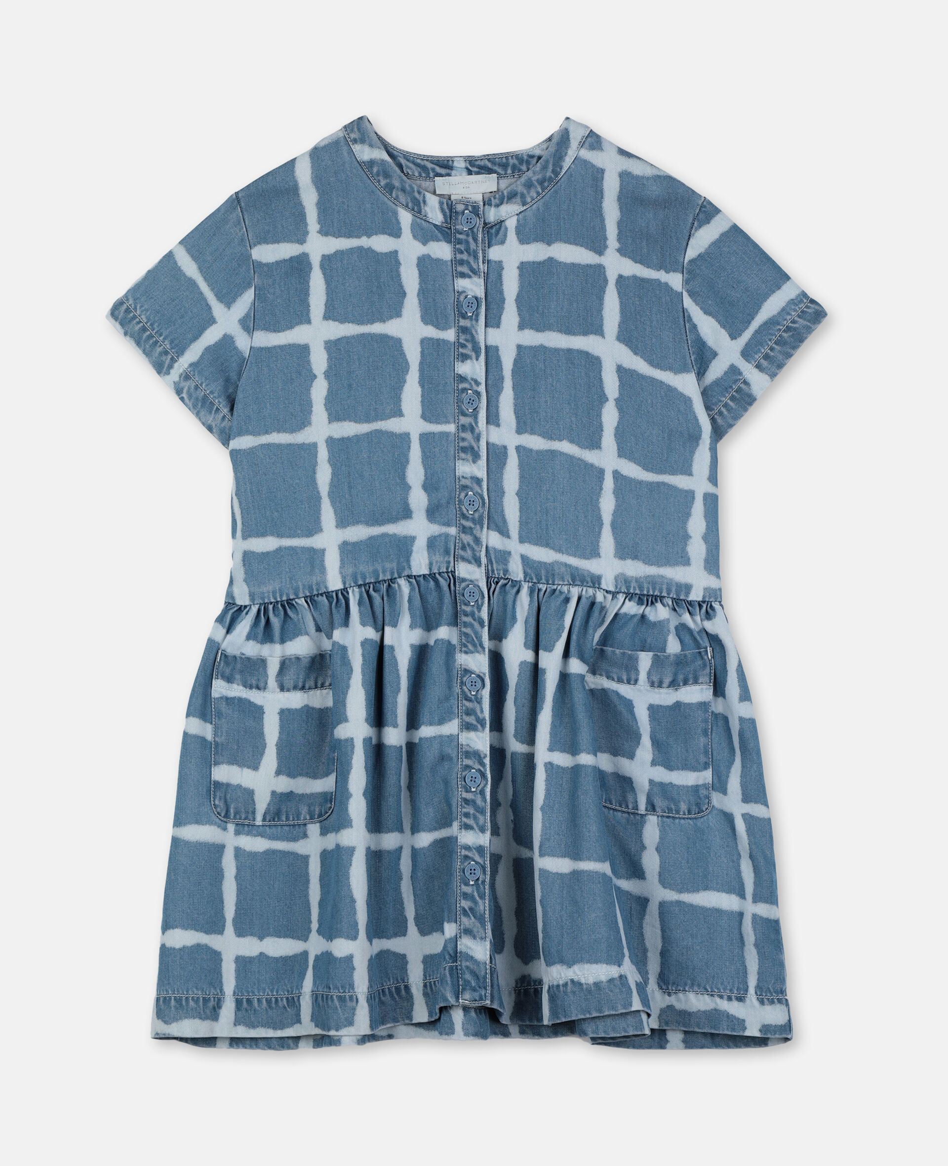 Tencel Denim Dress-Multicolour-large image number 0