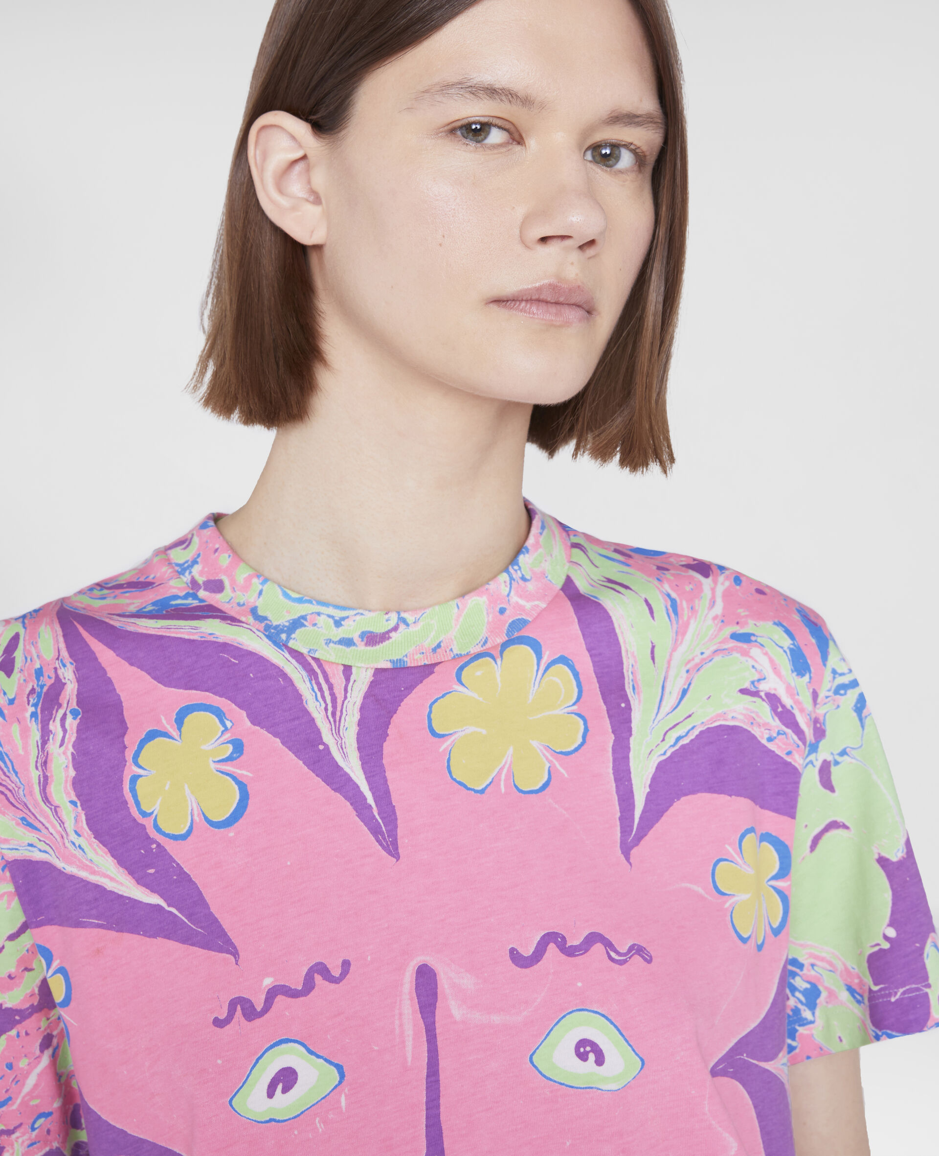 Myfawnwy Printed T-Shirt-Multicolour-large image number 3