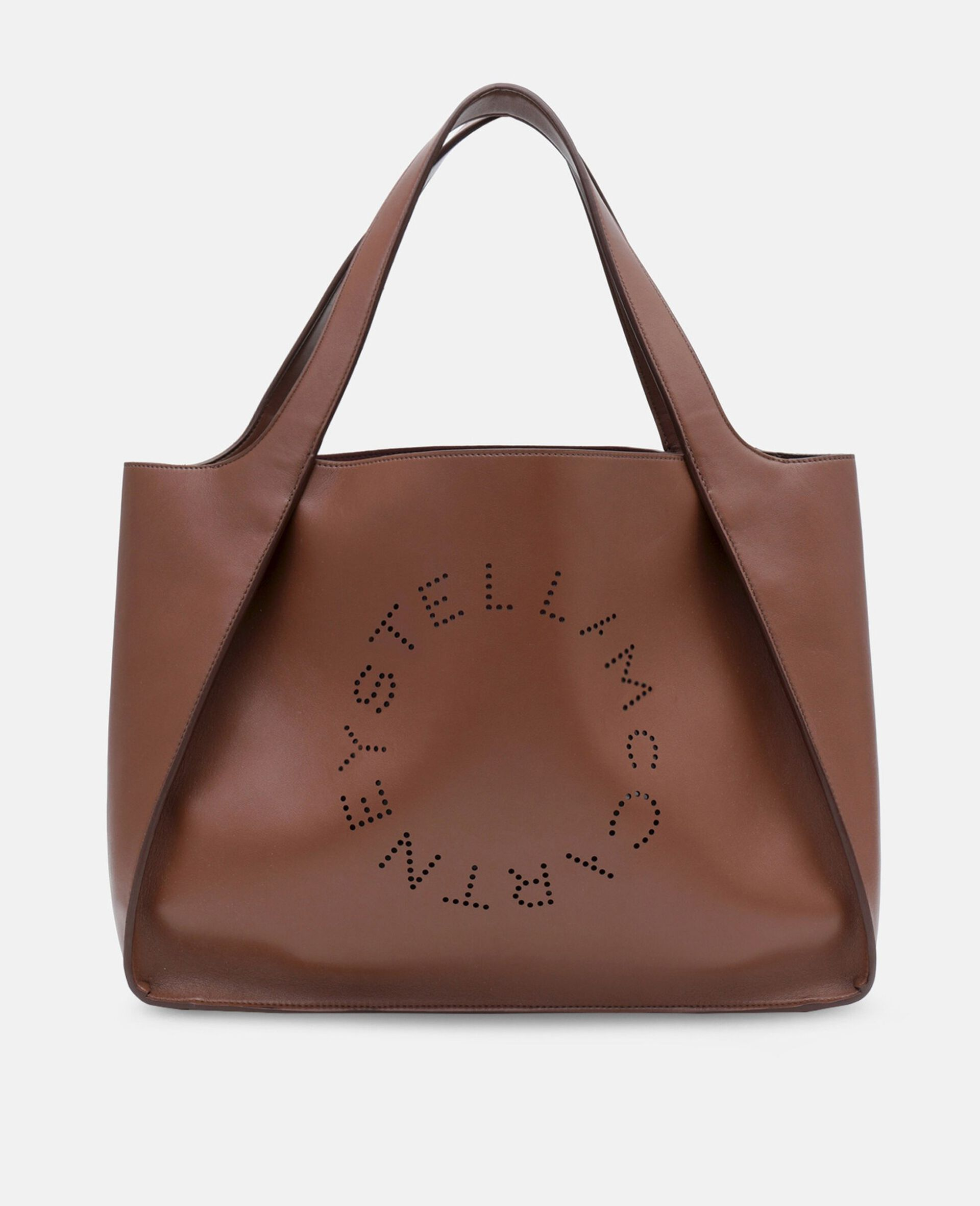 Stella Logo Tote Bag-Brown-large image number 0