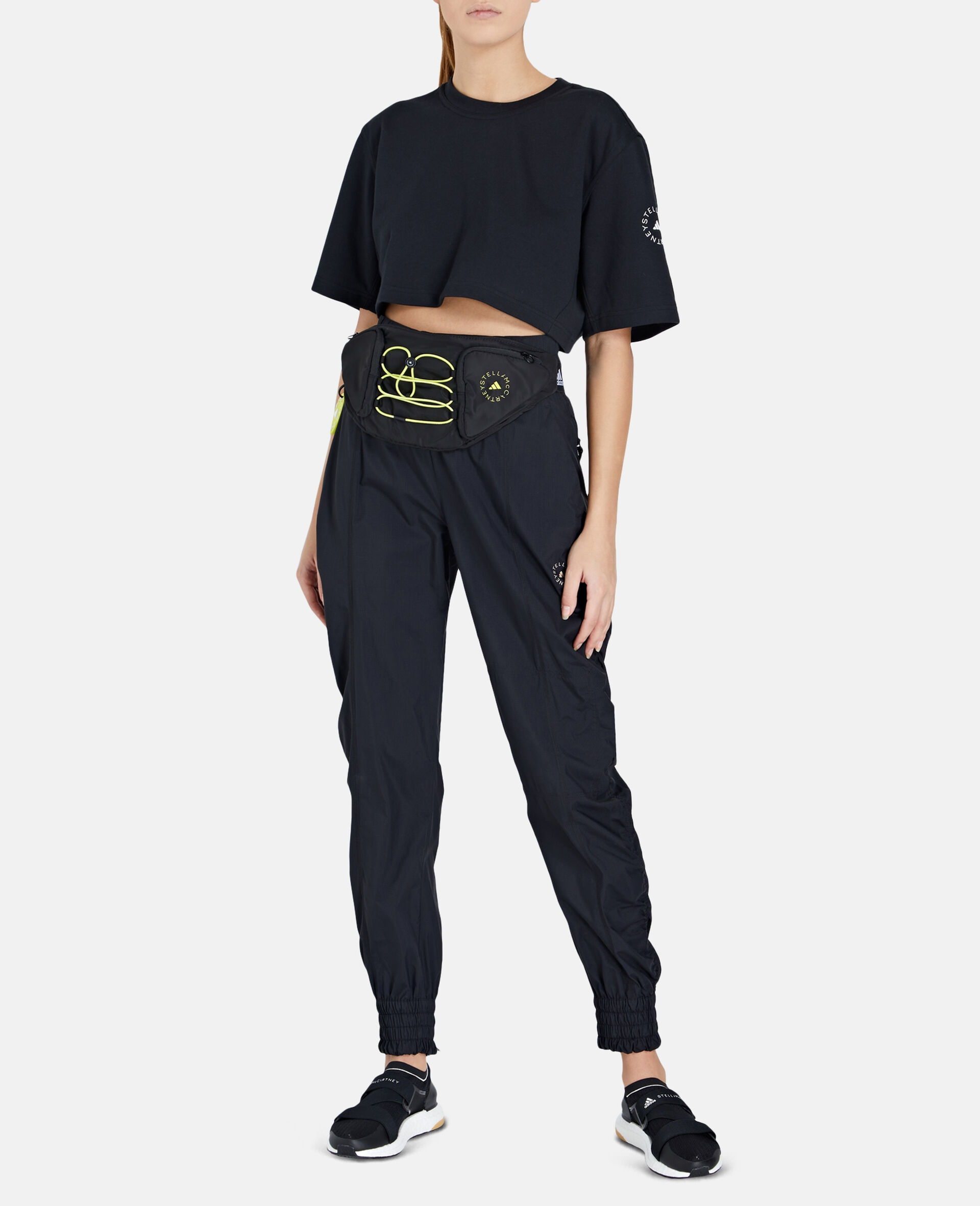 Future Playground Crop T-Shirt-Black-large image number 1