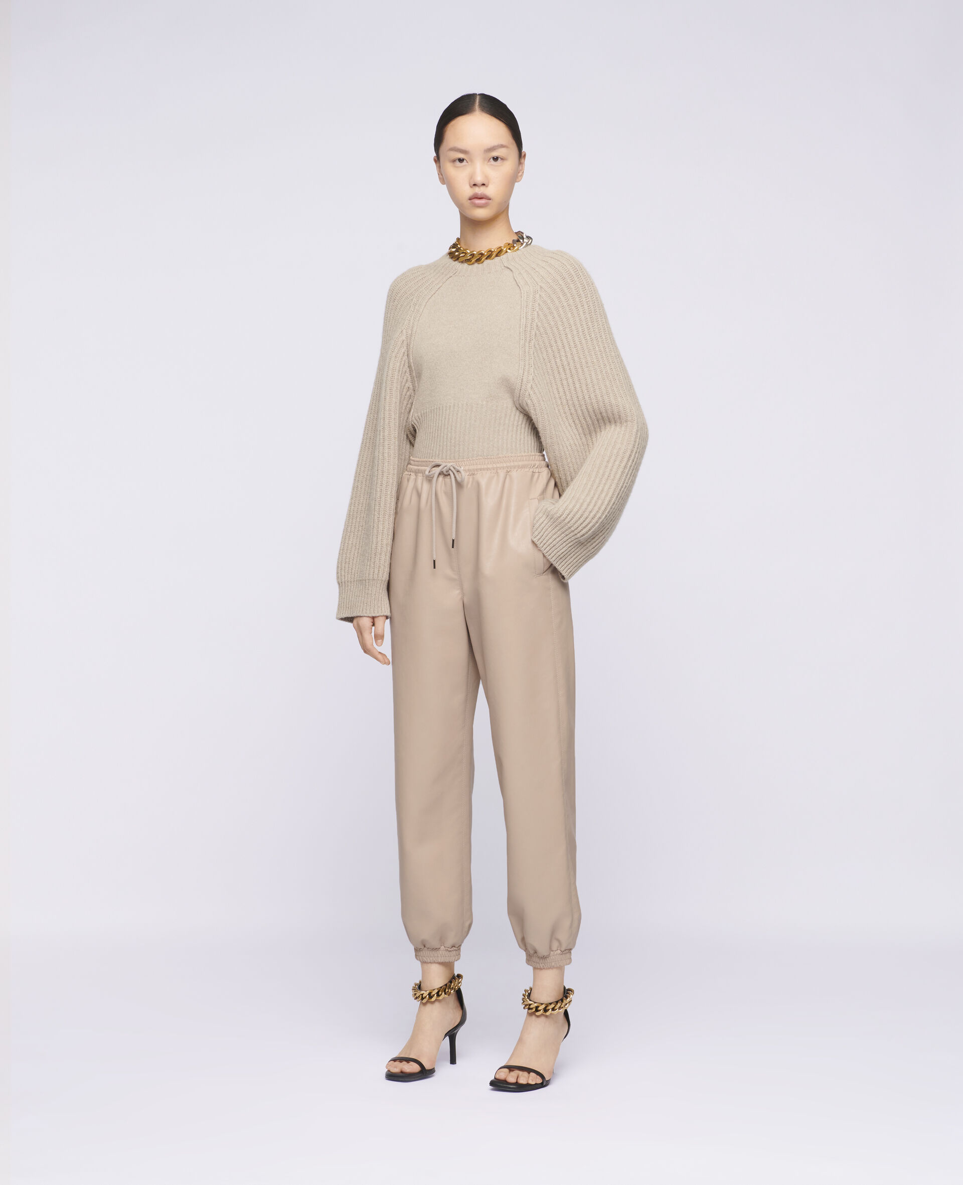 Pantaloni Kira in Alter Mat-Rosa-large image number 1