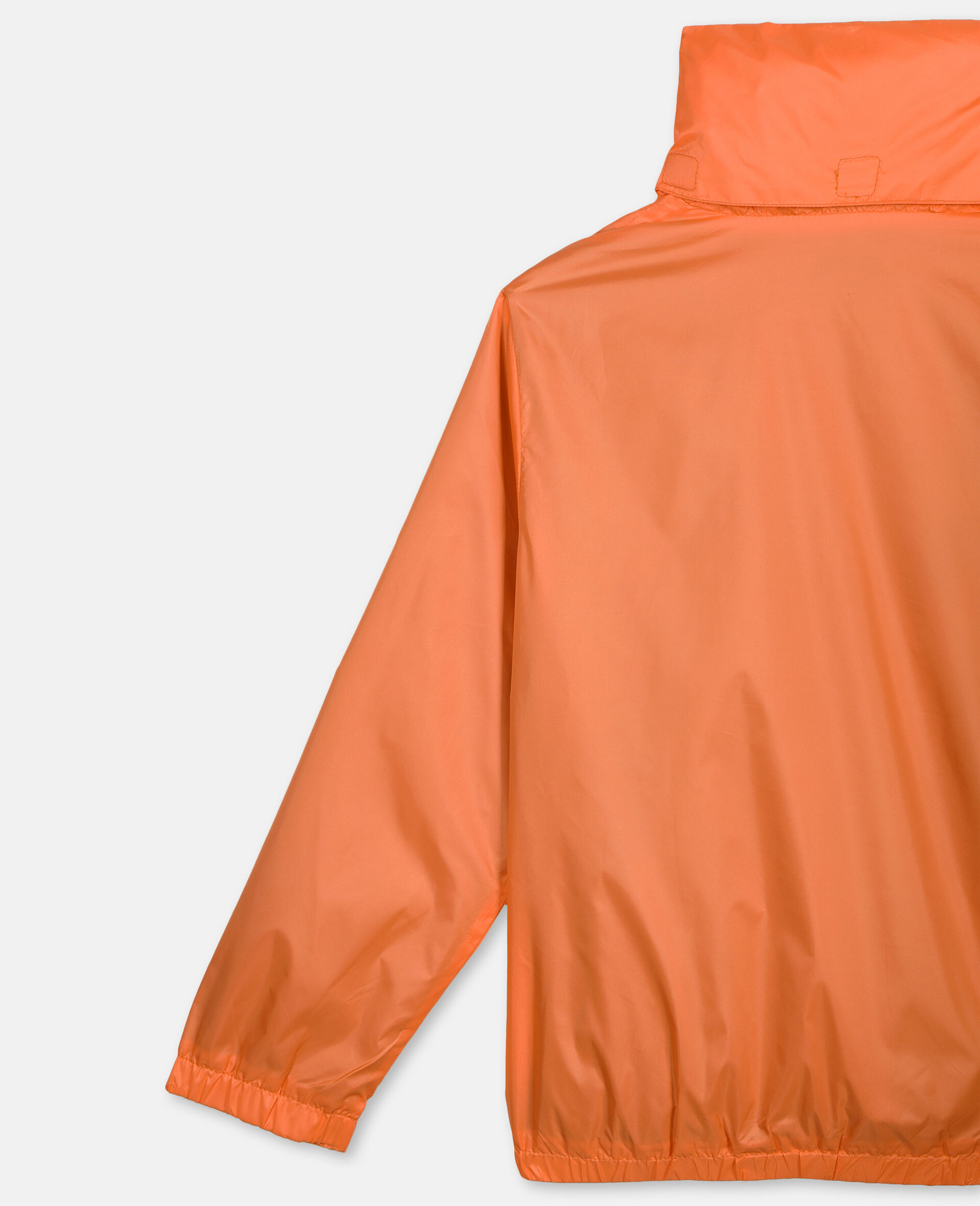 Logo Nylon Active Jacket -Orange-large image number 2