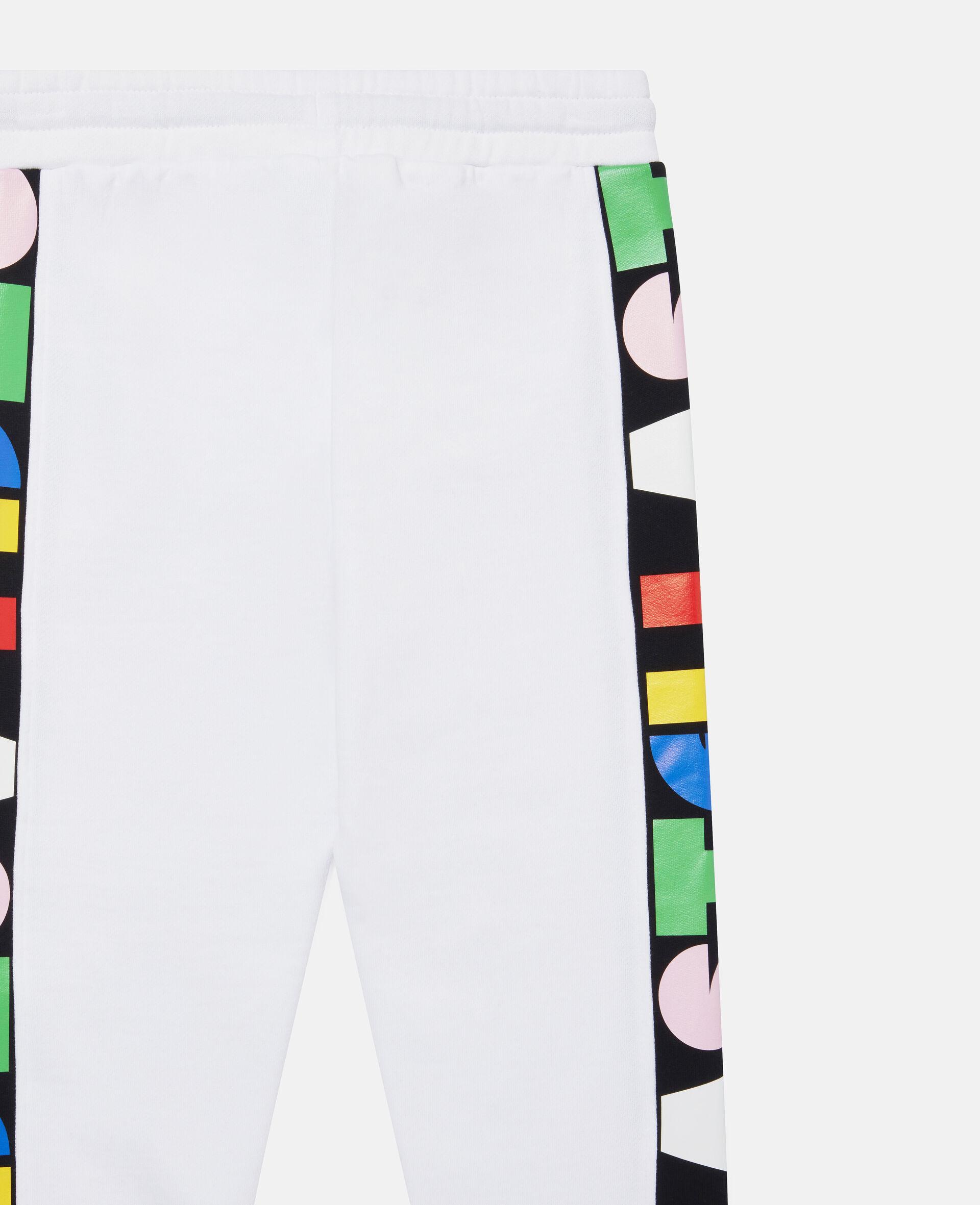 Pantalon de jogging en polaire Stella-Blanc-large image number 1