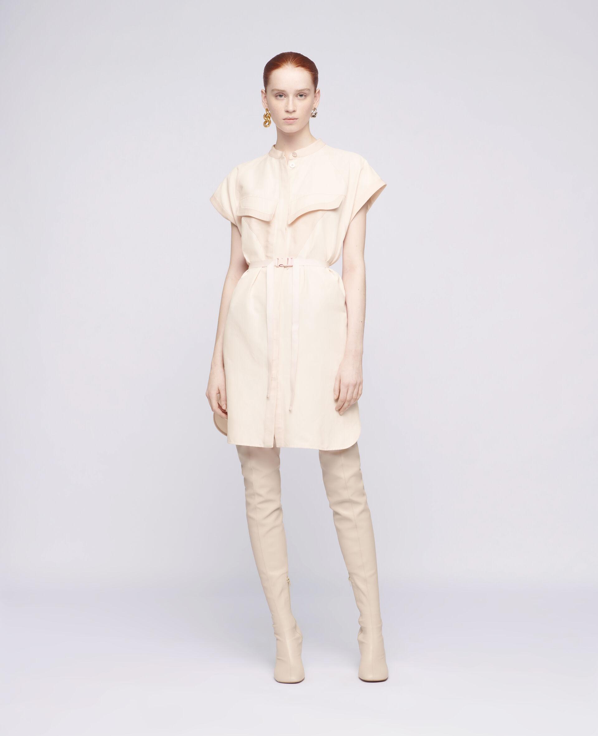 Lexie Midi Dress-Pink-large image number 1