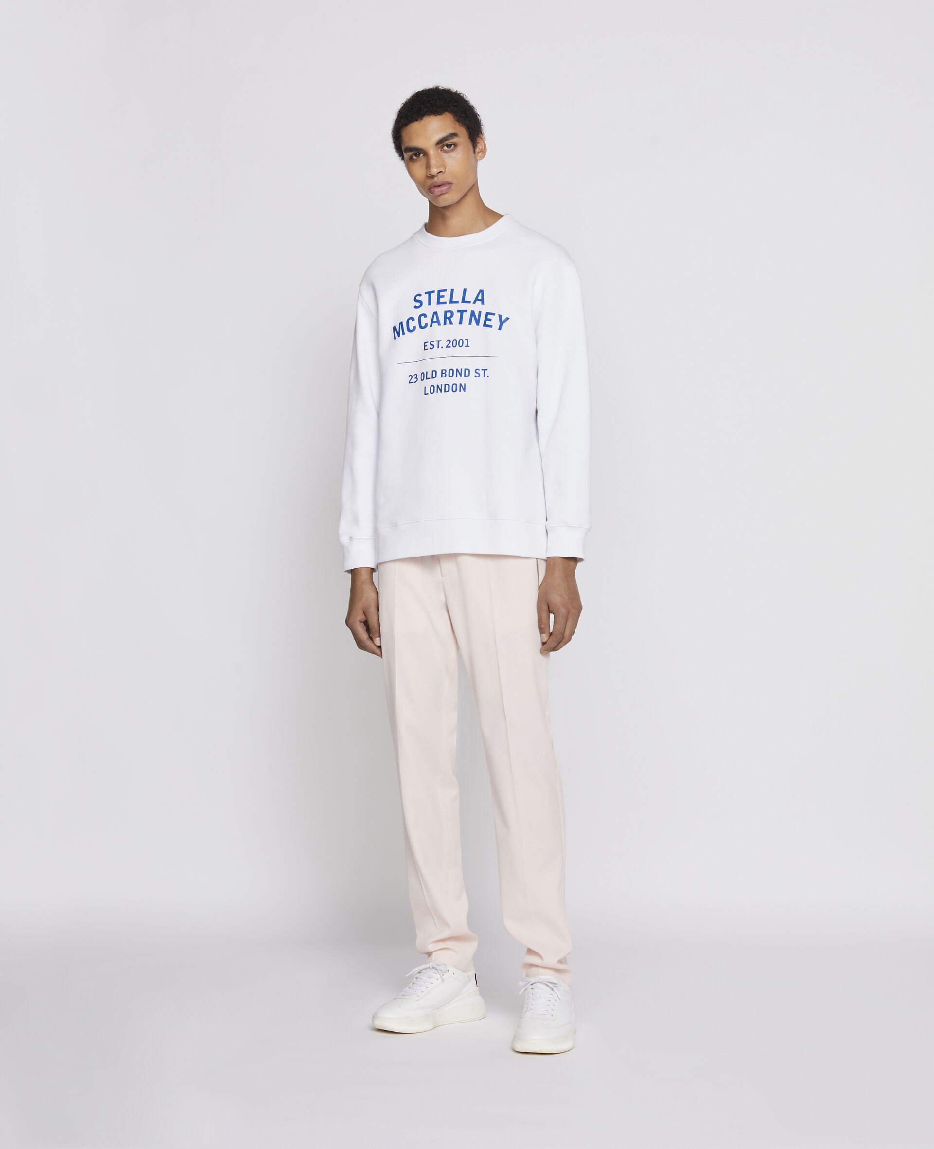 Sweat-shirt 23 OBS en coton biologique-Noir-large image number 3