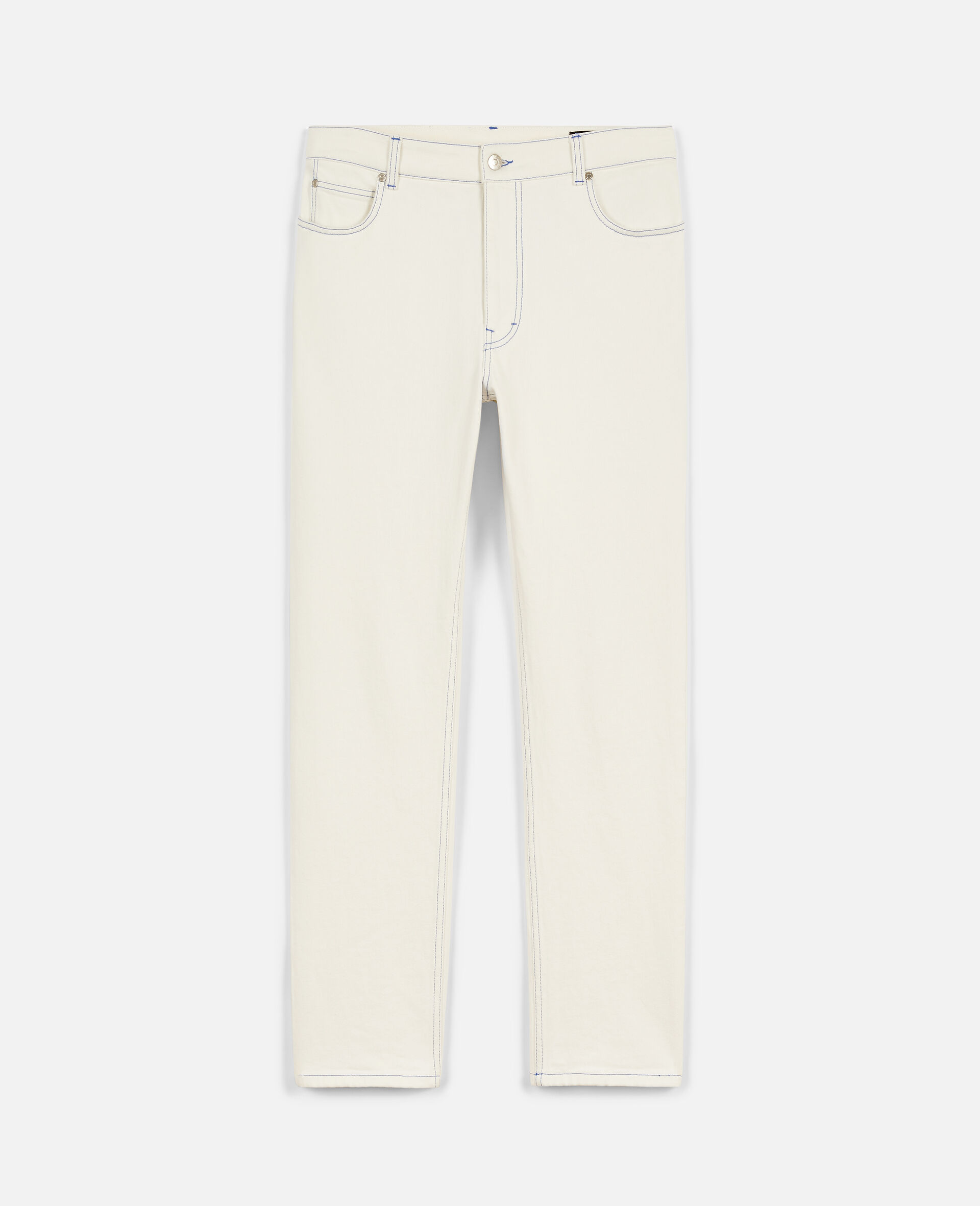 23 OBS Denim Trousers  -White-large image number 0