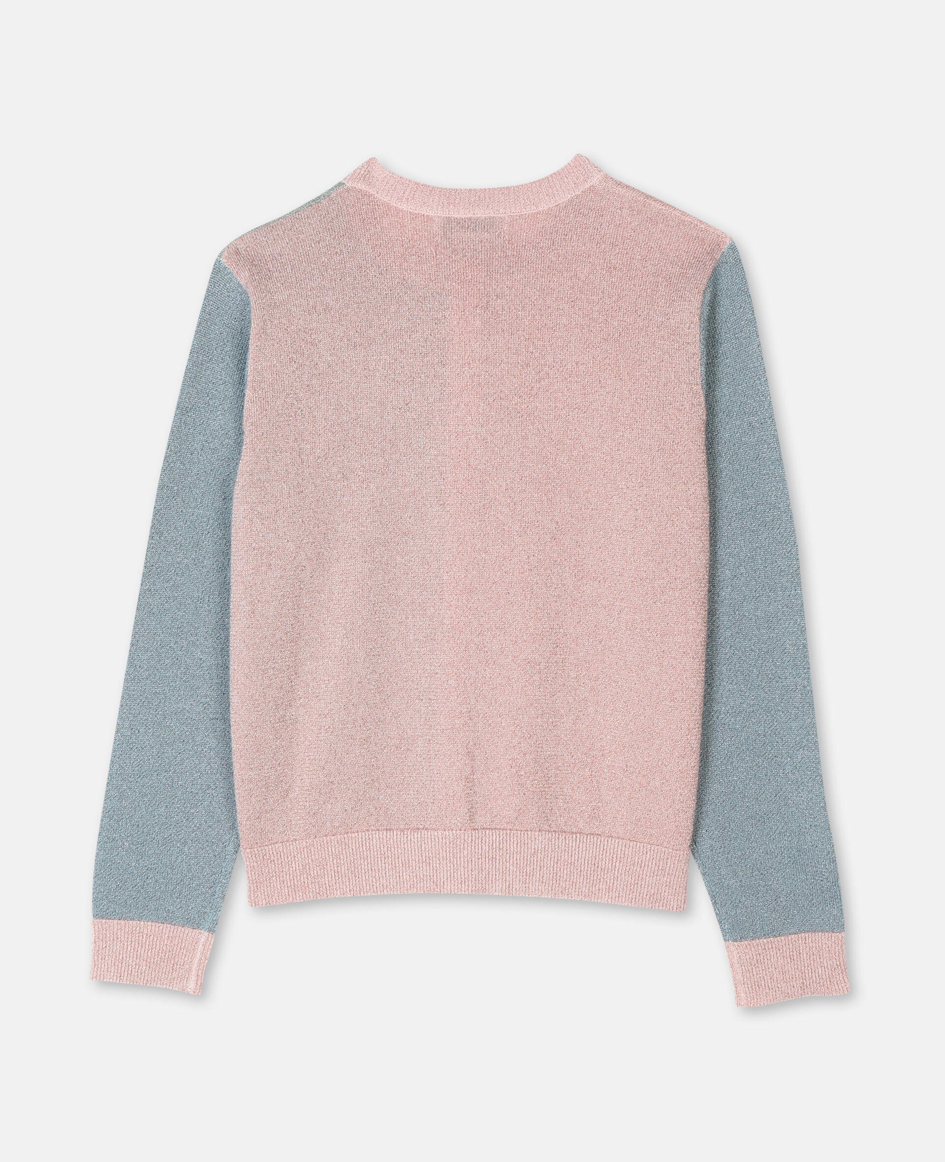 Multicolour Knit Cardigan -Pink-large image number 3