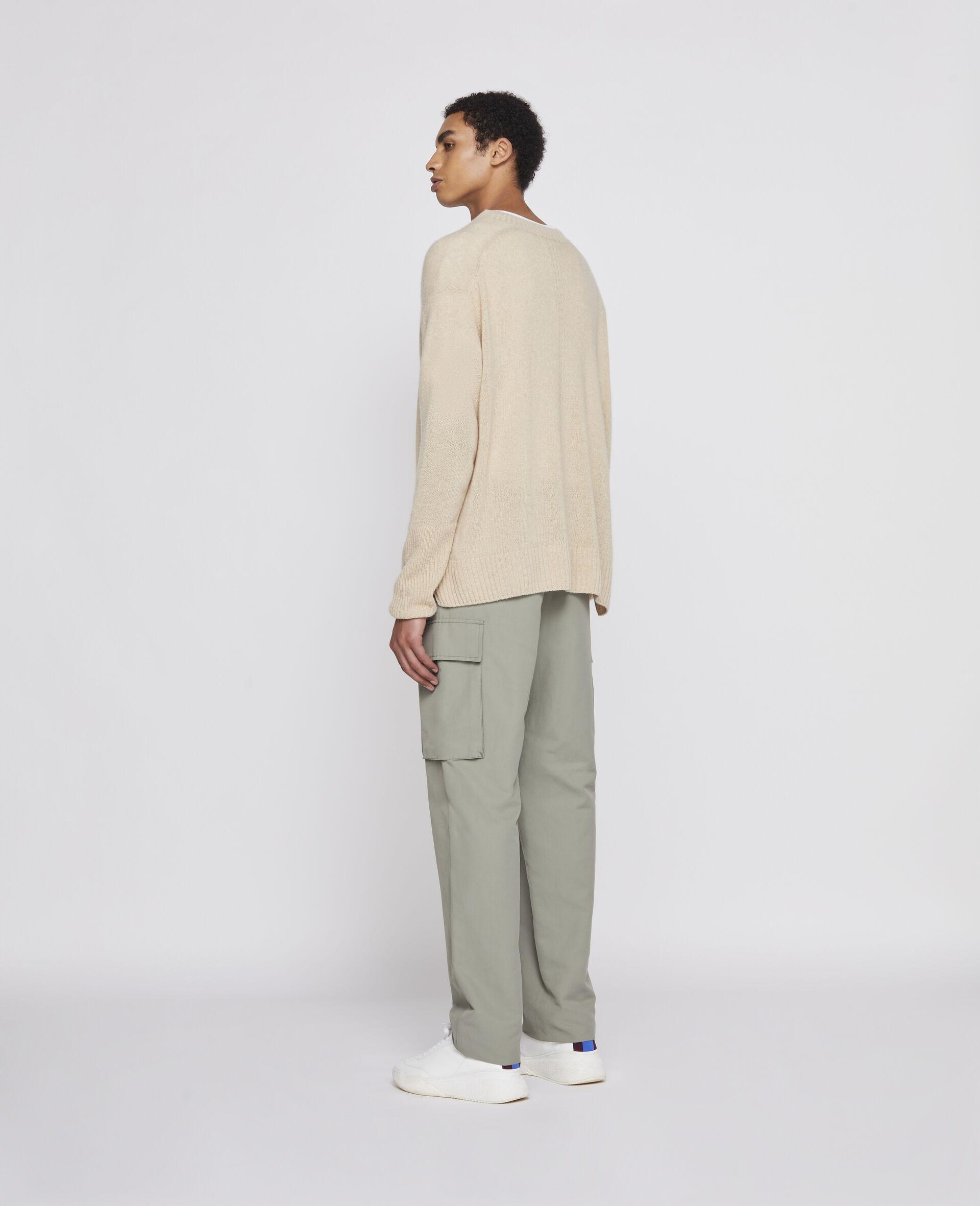 再生羊绒套衫-灰色-large image number 1