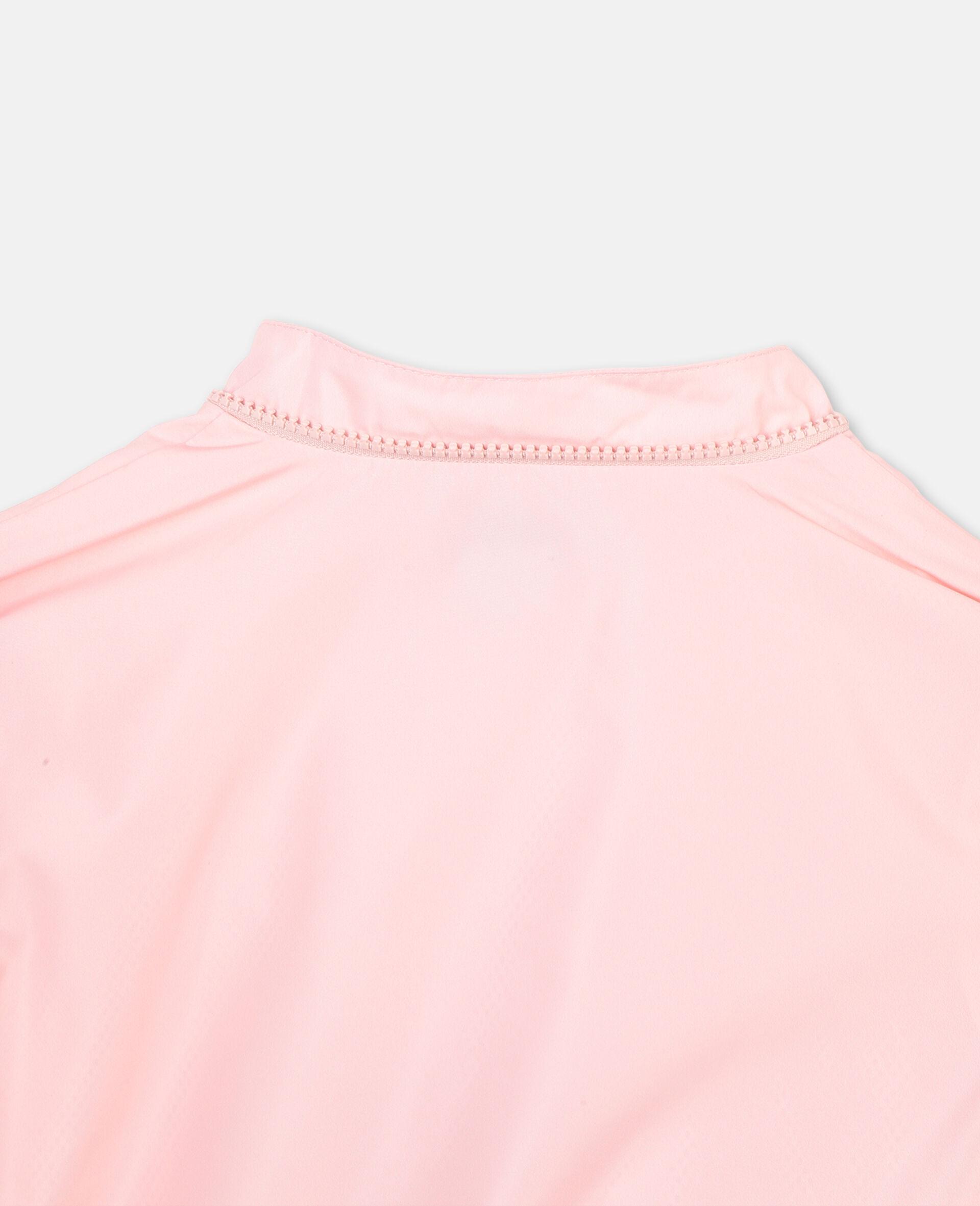 Veste à capuche avec motif flamant rose -Rose-large image number 2
