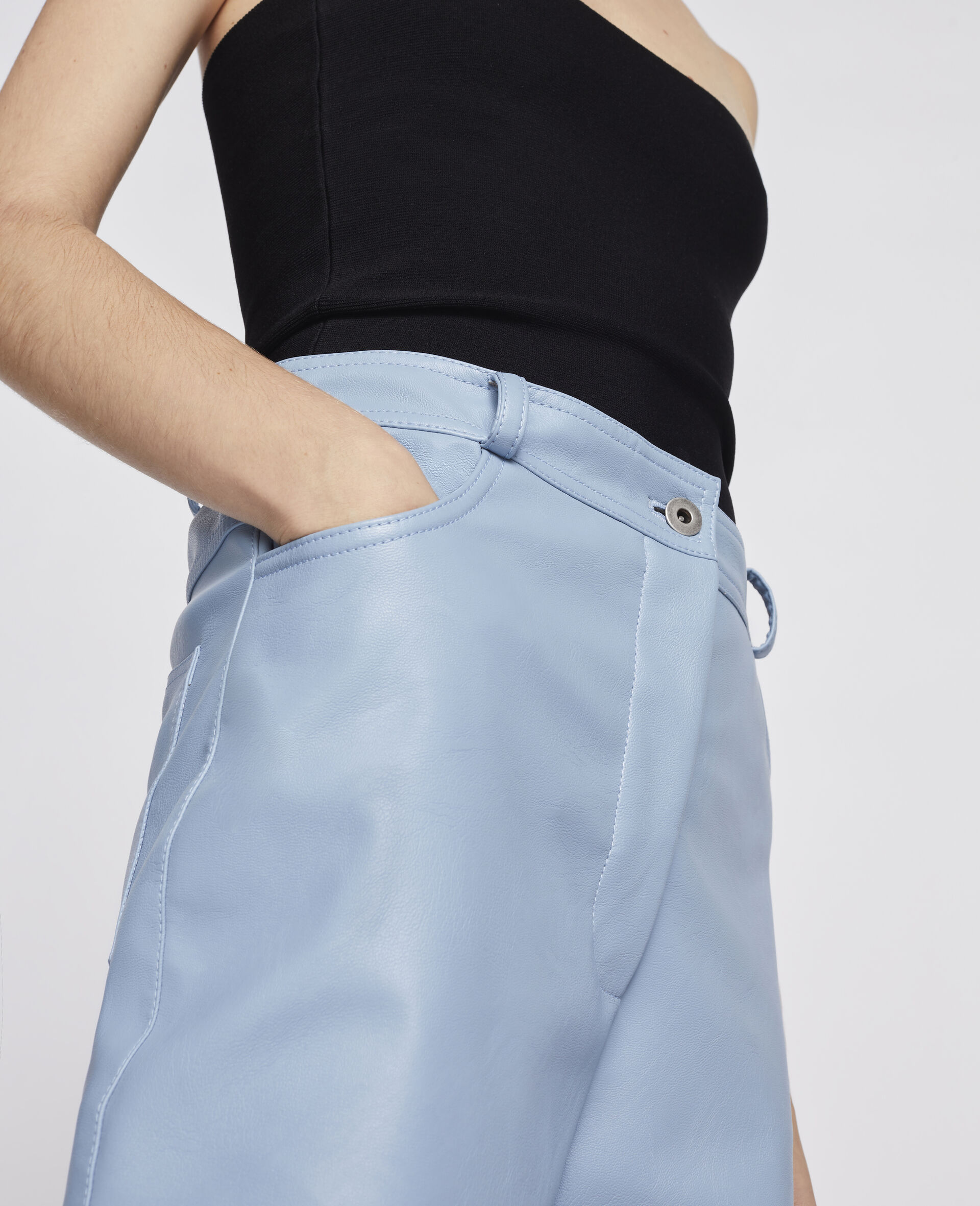 Hailey Alter Mat Trousers-Blue-large image number 3