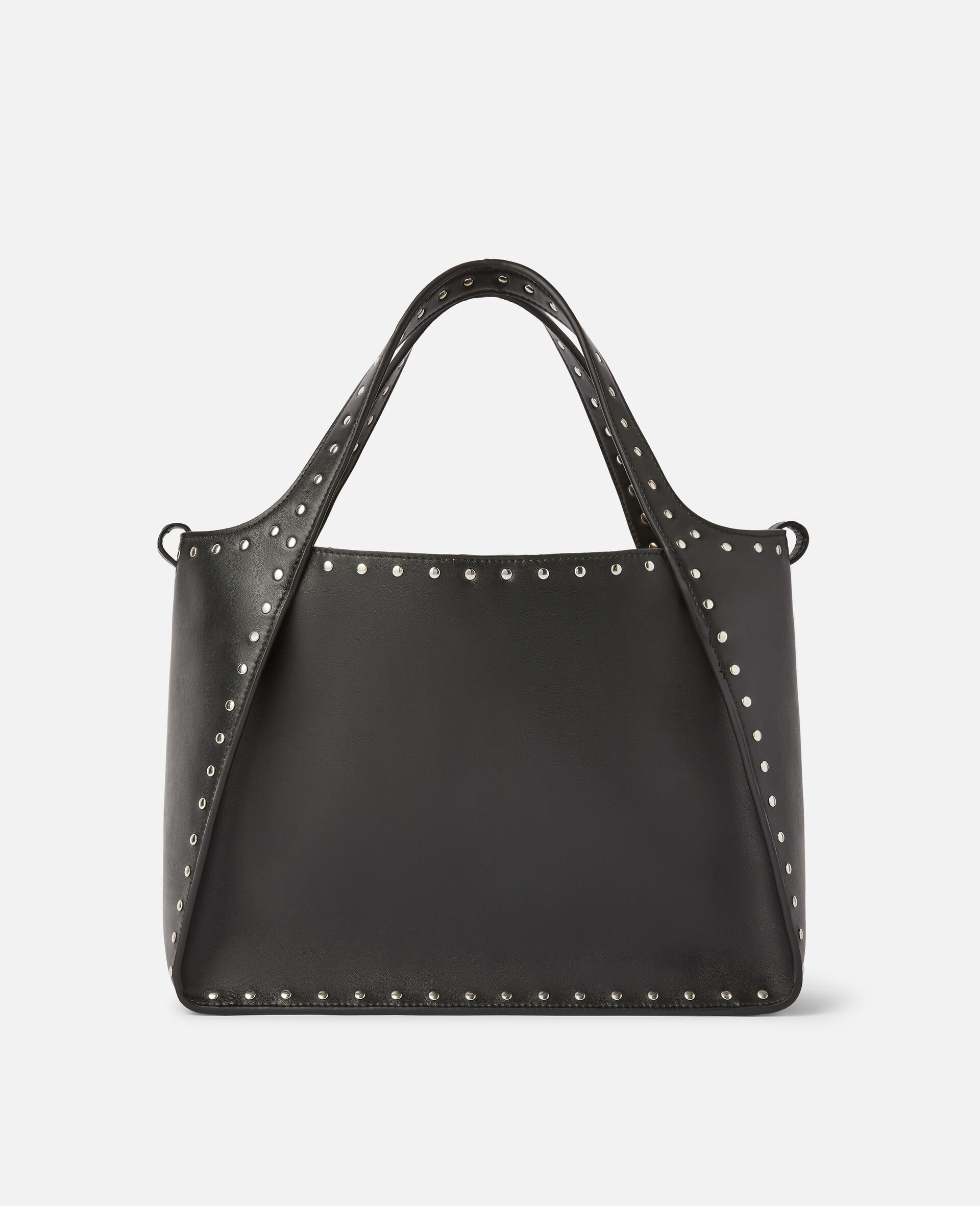 Stella Logo Crossbody Bag -Black-large image number 2